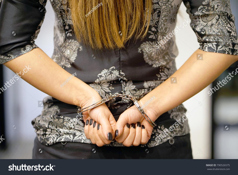 Naked Girl Handcuffed Behind Back  Hot Girl Hd Wallpaper-5164