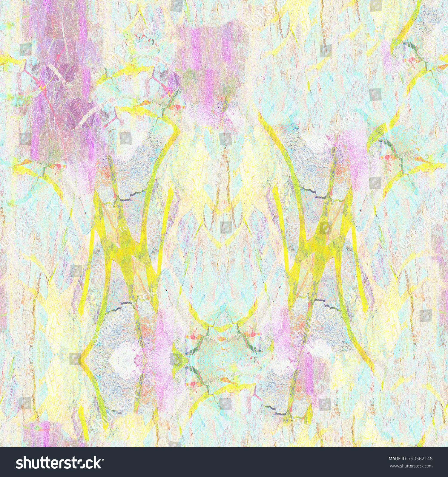 Abstract conceptual geometric blended messy shapes background. Good ...