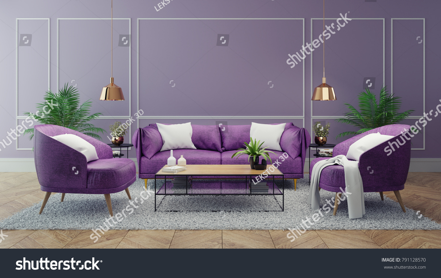 Magnificent Luxury Modern Interior Living Room Ultraviolet Theyellowbook Wood Chair Design Ideas Theyellowbookinfo
