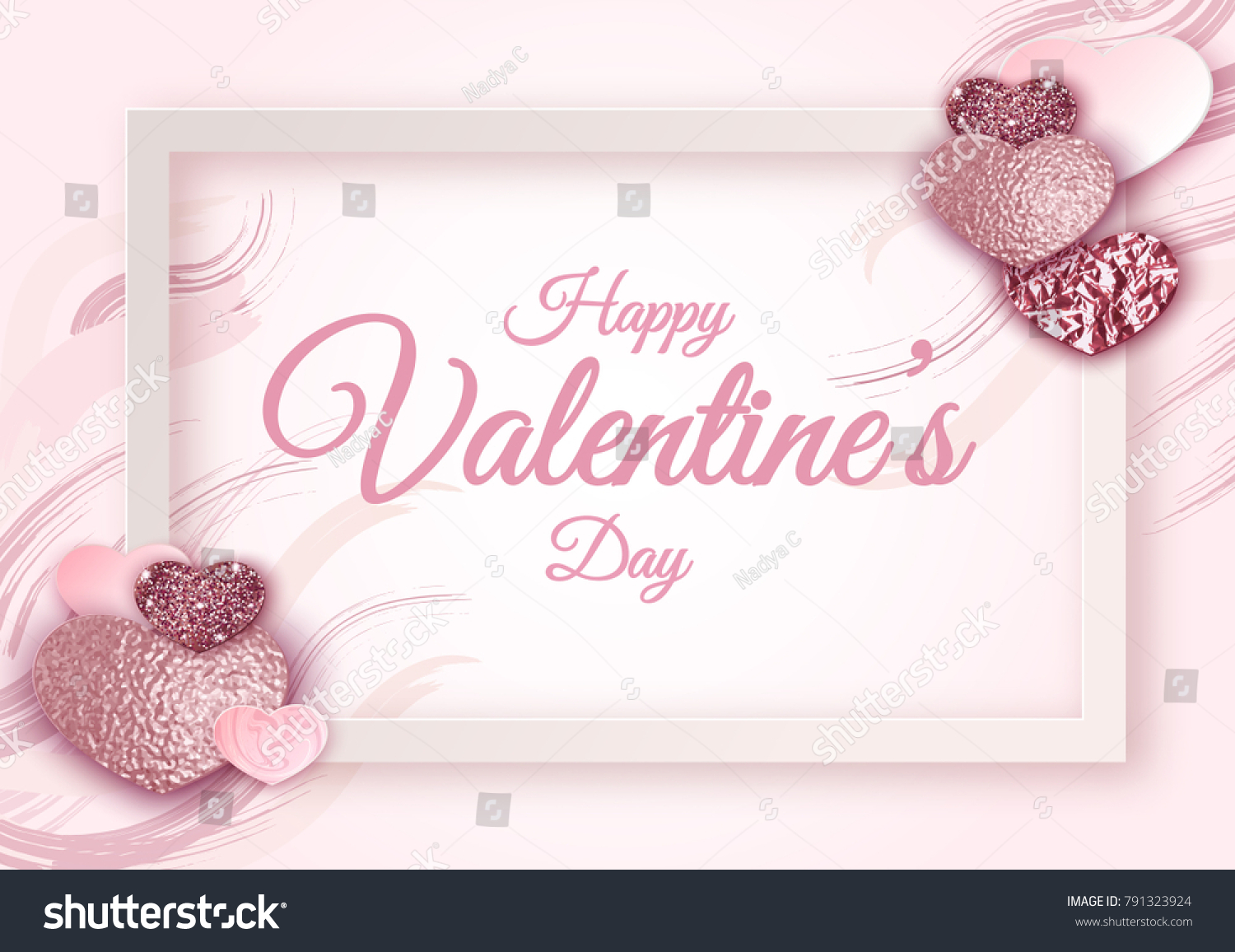 Great Wallpaper Marble Heart - stock-vector-geometric-valentine-day-frame-marble-texture-background-in-trendy-minimalistic-style-heart-791323924  You Should Have_41774.jpg