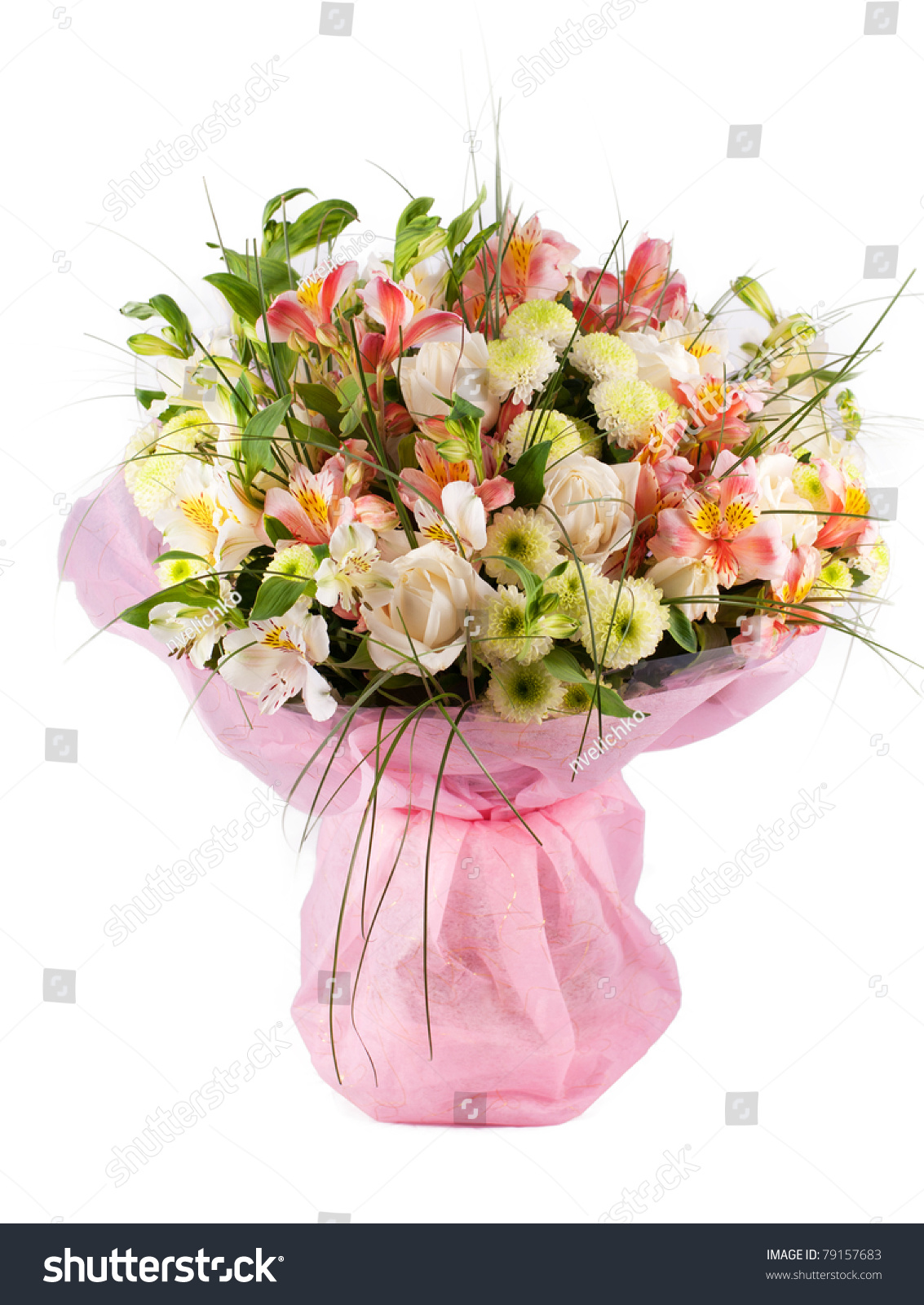 Spring flowers bouquet with a lot of different flowers for A lot of different flowers make a bouquet