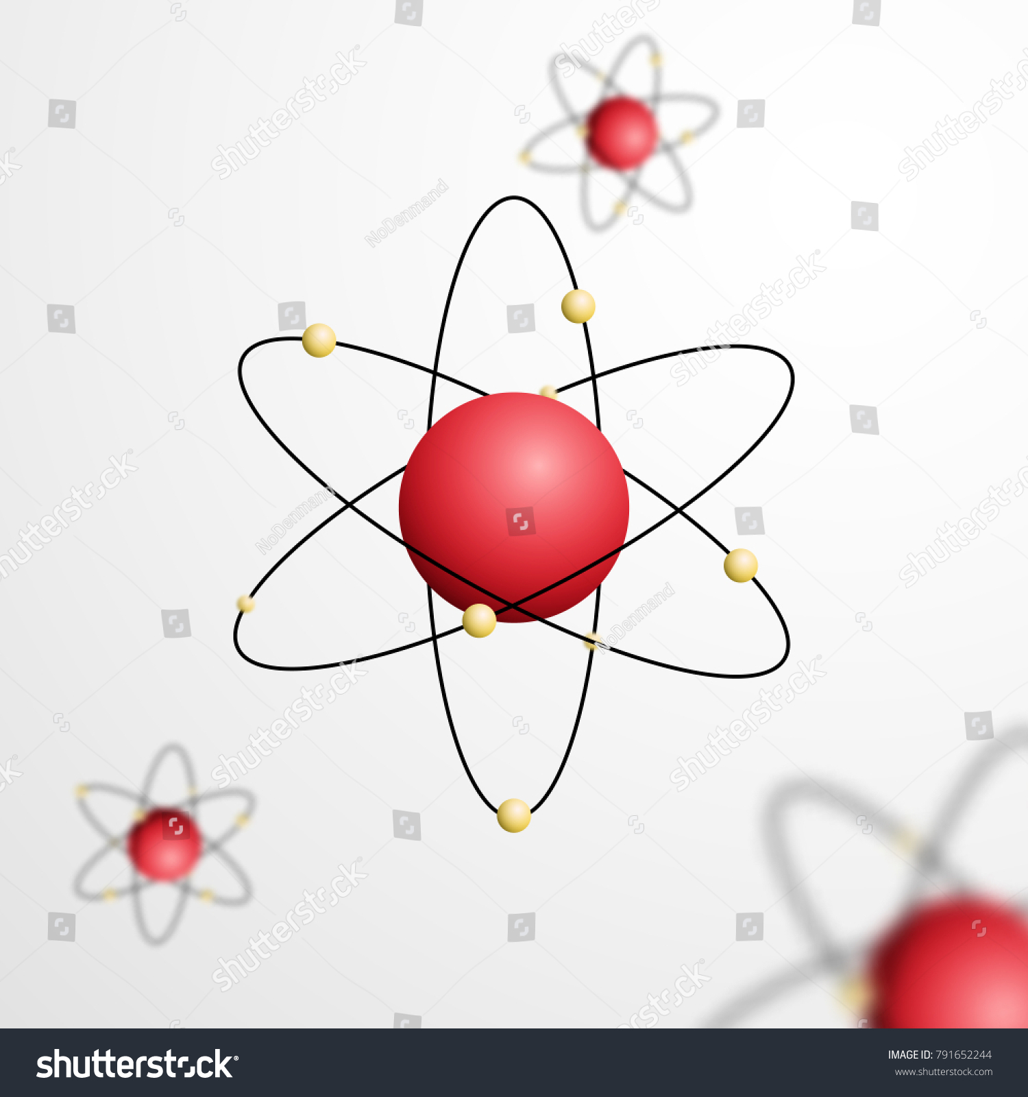 Abstract atom core orbits electrons vector stock vector 791652244 abstract atom with core and orbits with electrons vector illustration 3d chemical technology concept ccuart Gallery