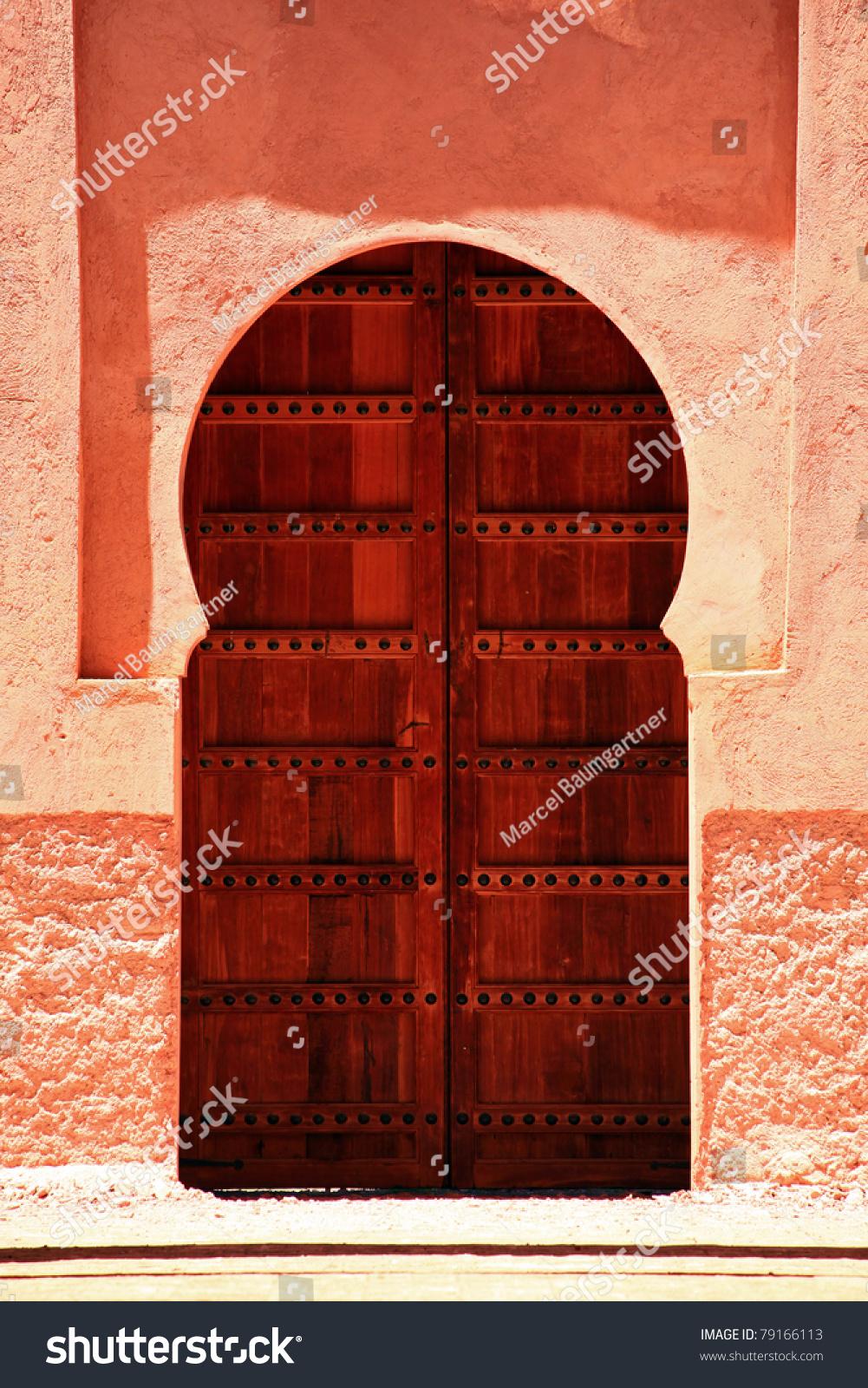 Oriental Door in Morocco & Oriental Door Morocco Stock Photo 79166113 - Shutterstock