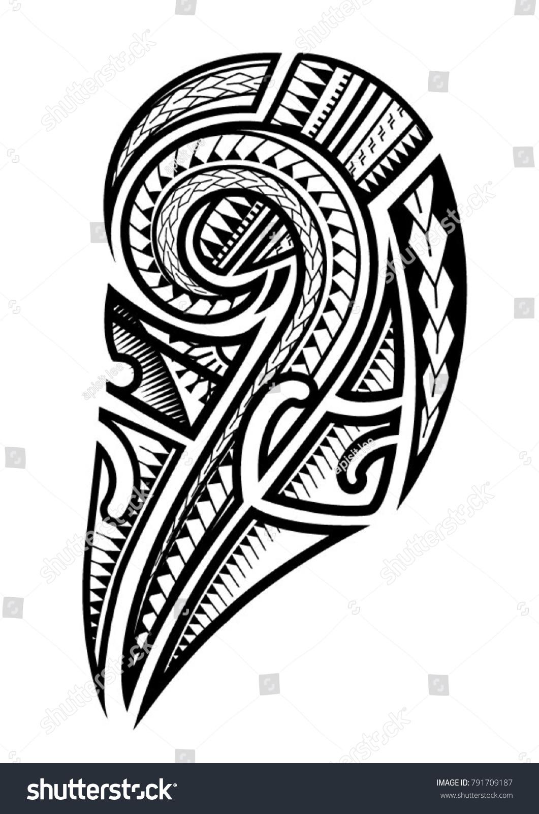Samoan Tattoo For Upper Arm