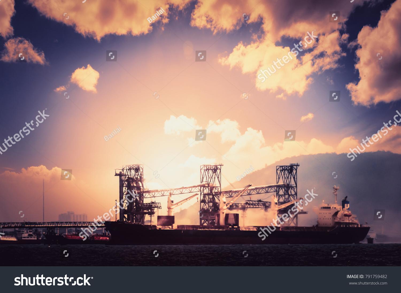Logistics Transportation International Container Cargo Ship