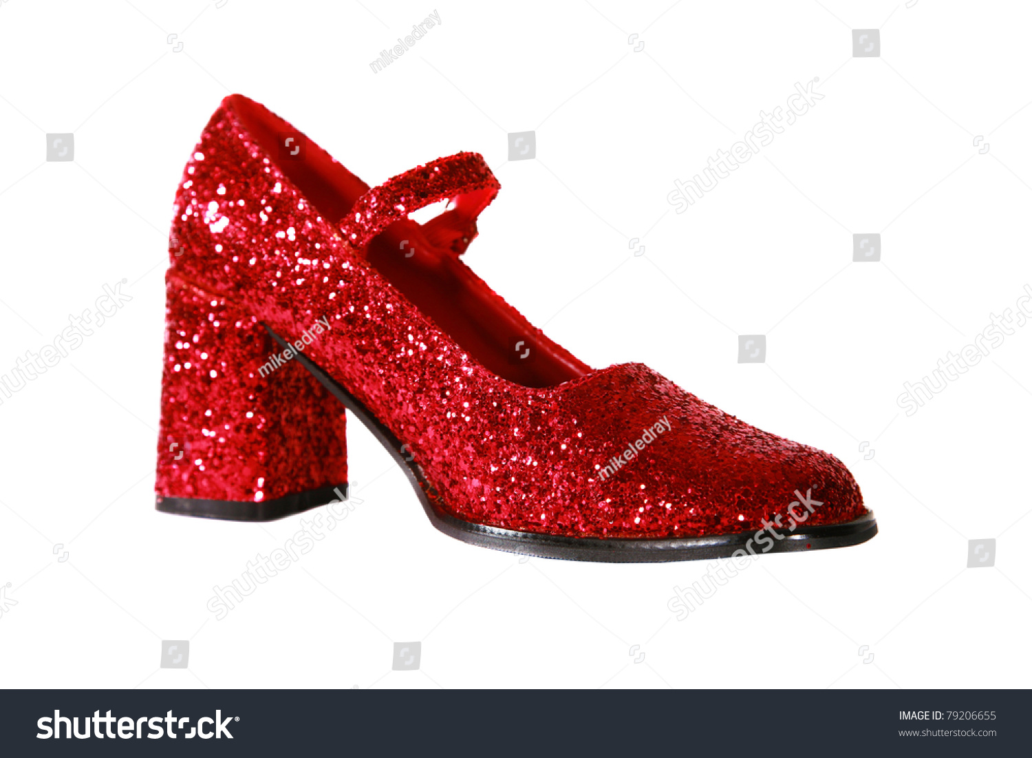 Ruby Red High Heel Shoes