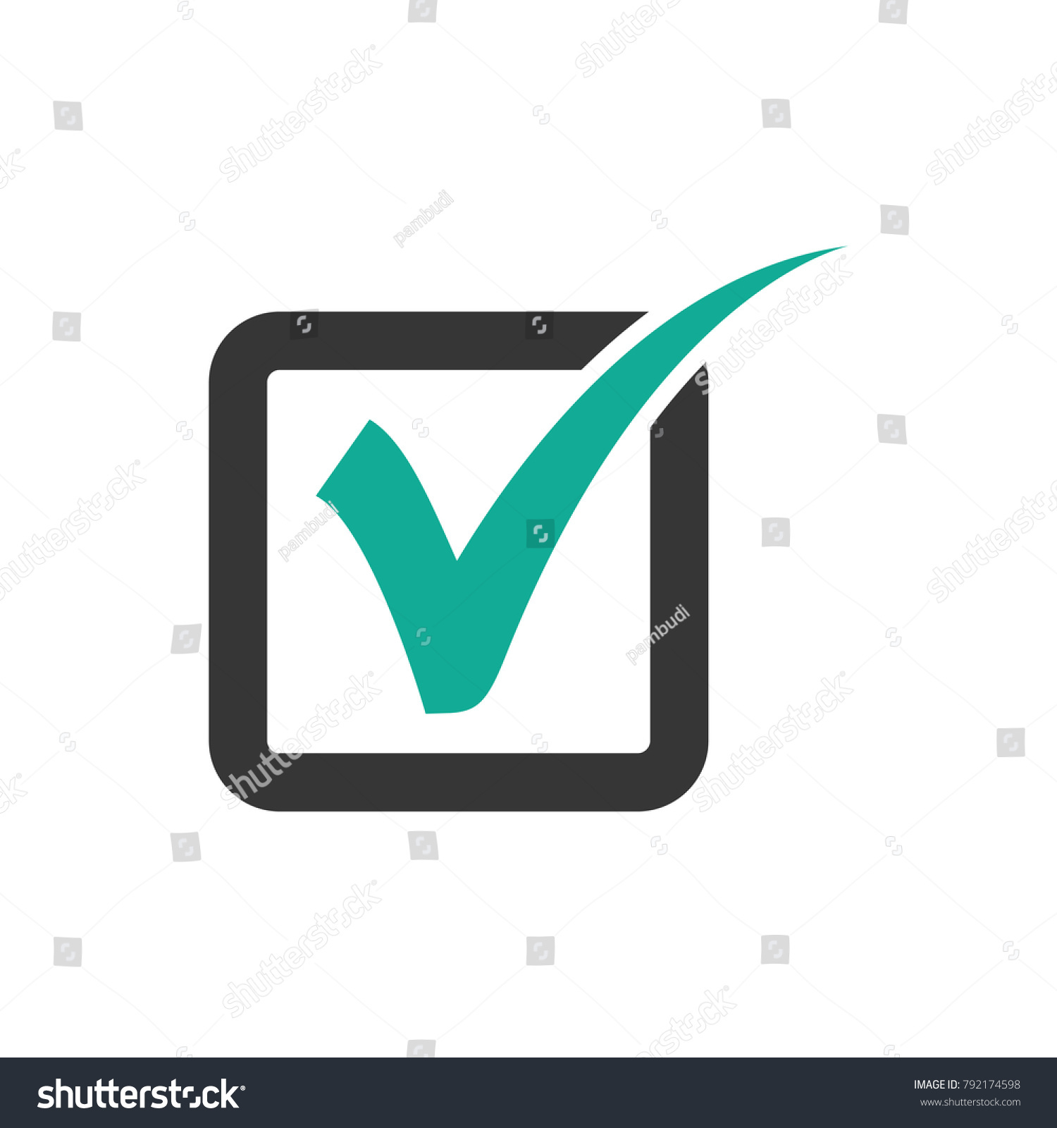 check check mark logo vector check stock vector hd royalty free rh shutterstock com check mark logo silver check mark logo with yellow circle