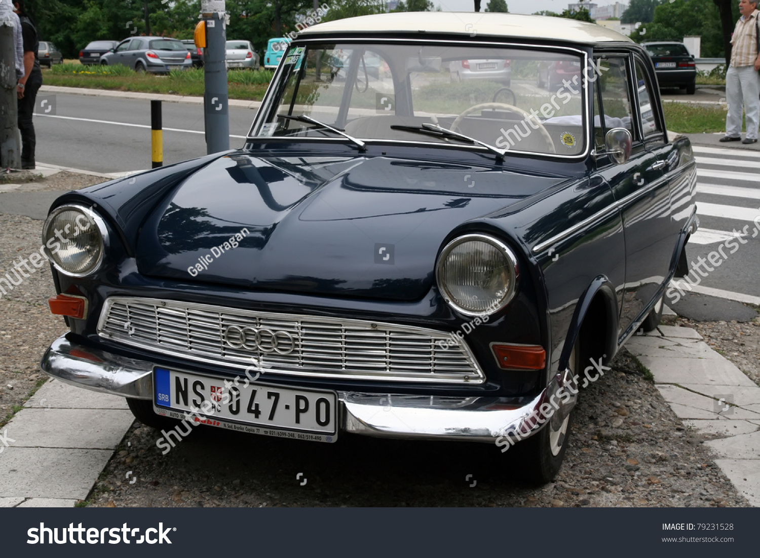 belgrade june 11 a dkw junior de luxe on oldtimer 39 s car. Black Bedroom Furniture Sets. Home Design Ideas