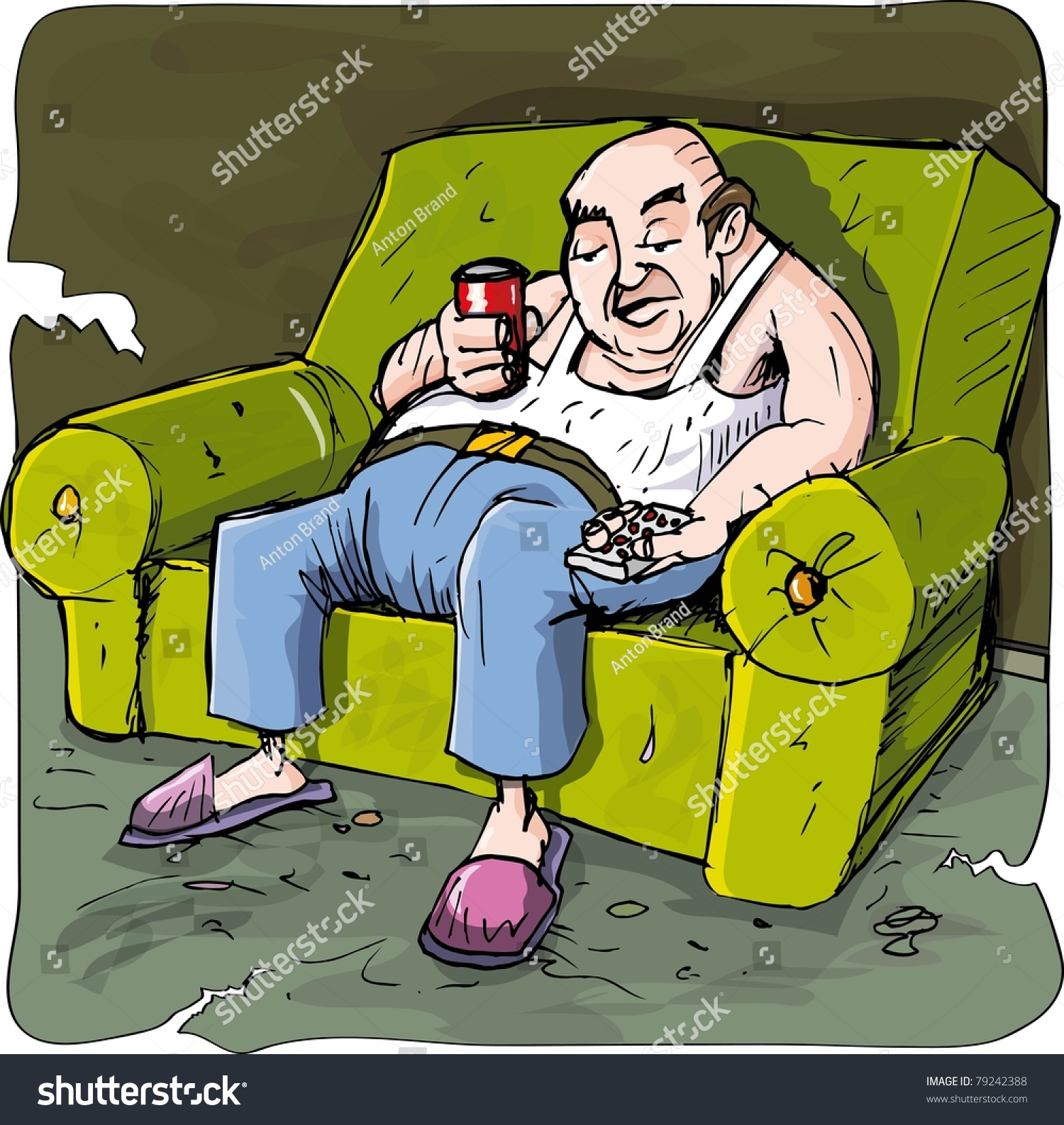 Lazy Person On Couch Cartoon Image Gallery lazy per...