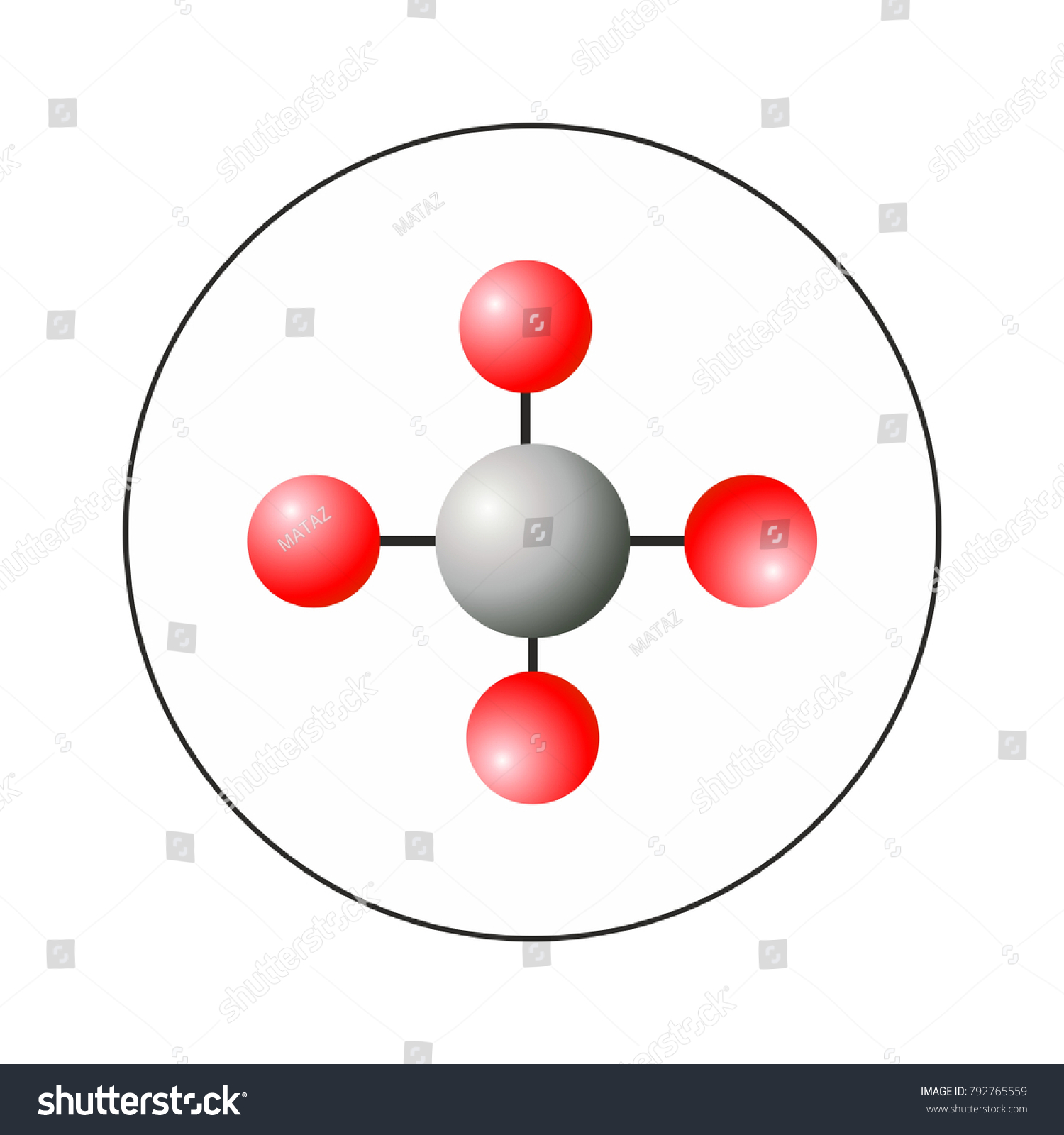Ch4 methane molecule 3d model chemicel stock vector 792765559 ch4 methane molecule 3d model chemicel icon sign symbol for web and print biocorpaavc Gallery