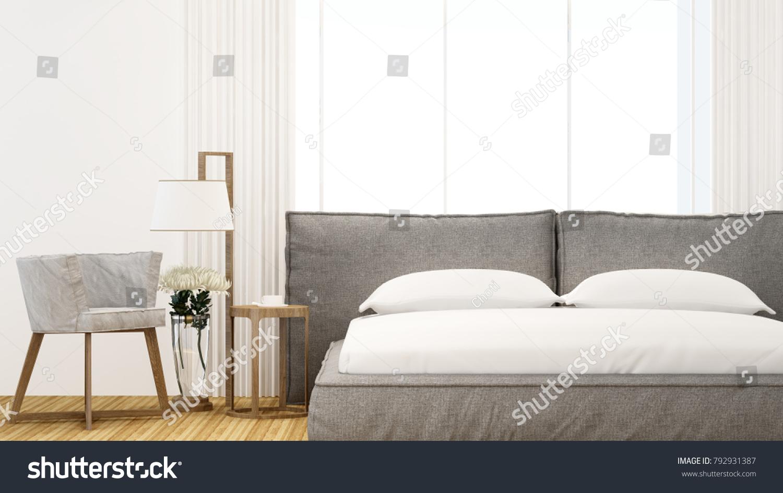 Bedroom Living Area Hotel Home On Stock Illustration 792931387 ...