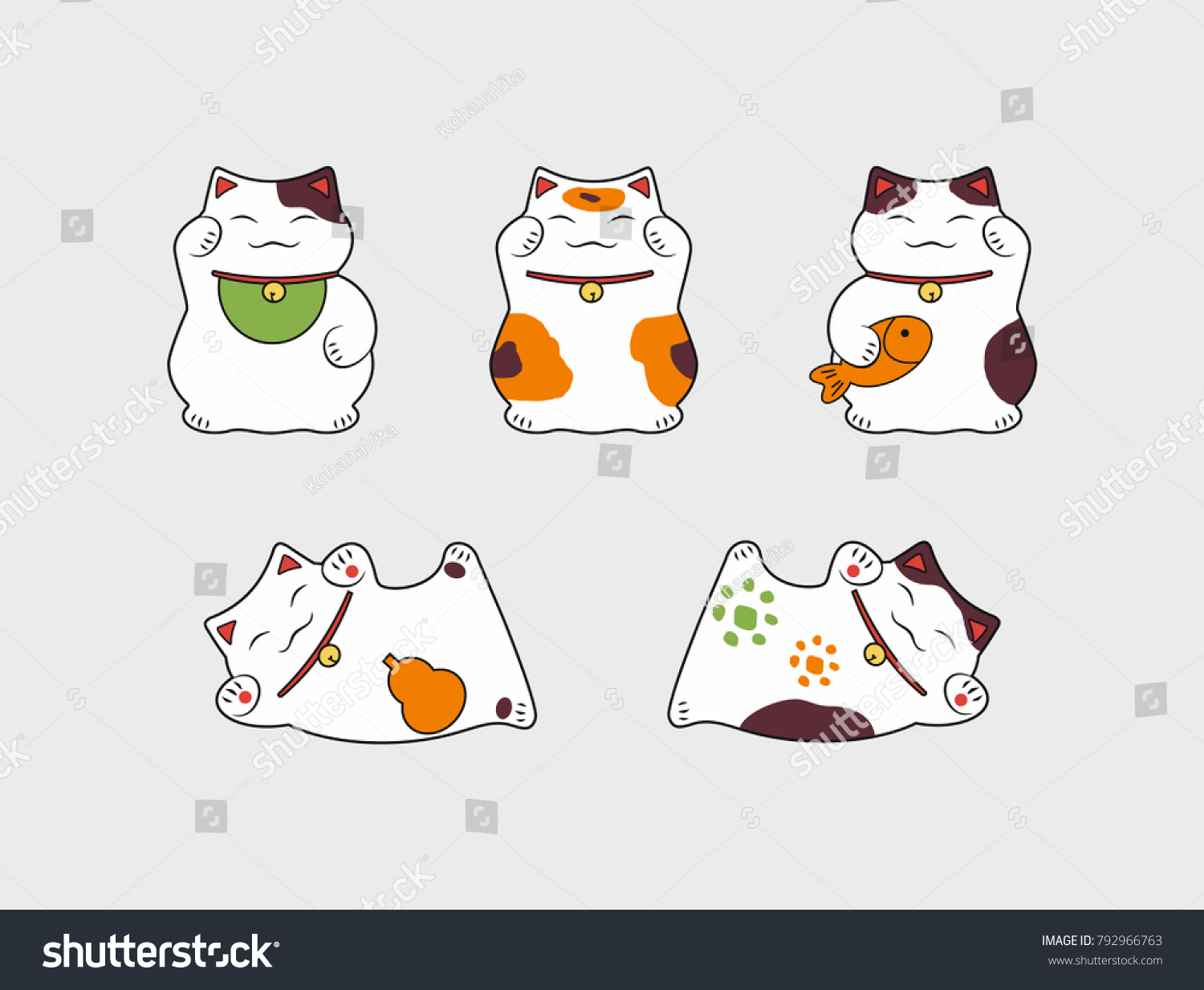 Symbol for good luck image collections symbol and sign ideas thai good luck symbols images symbol and sign ideas set symbol maneki neko attracting cat stock buycottarizona