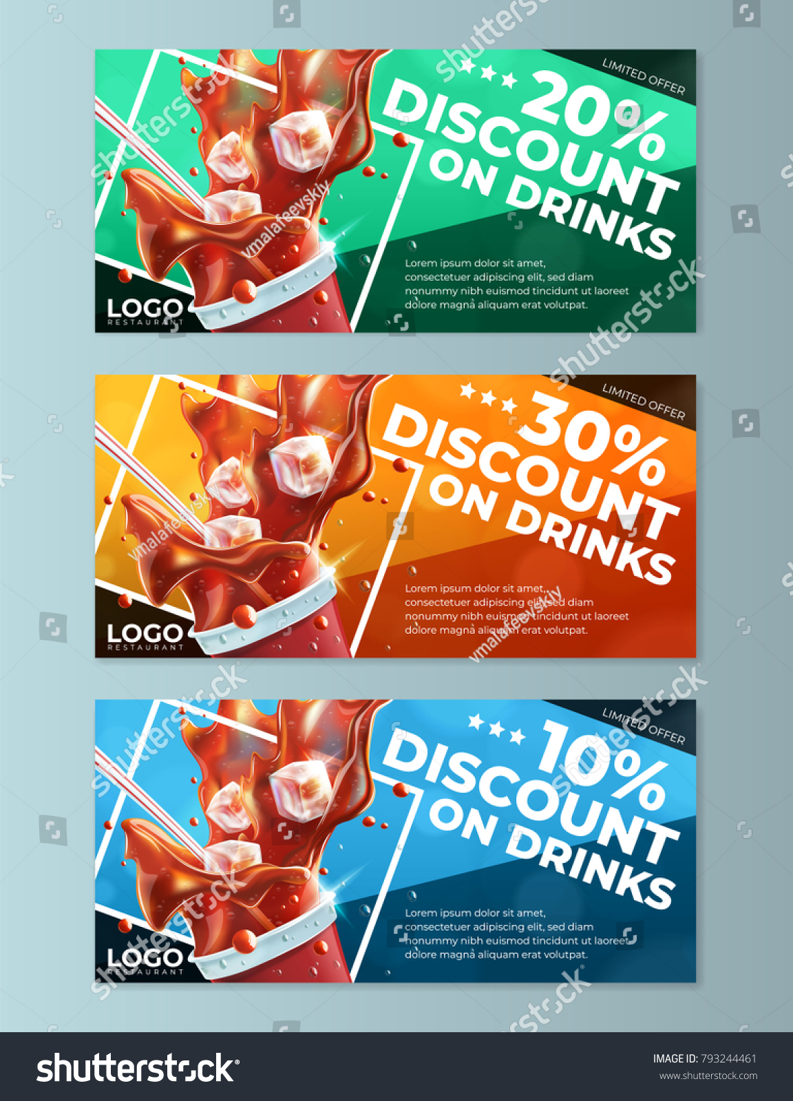 Meal Voucher Template What Should I Put In A Cover Letter Word Stock Vector  Fast Food