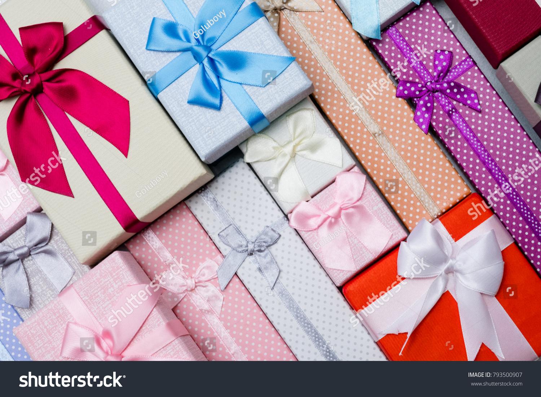 Great Choice Gifts Friends Family Seasonal Stock Photo Royalty Free
