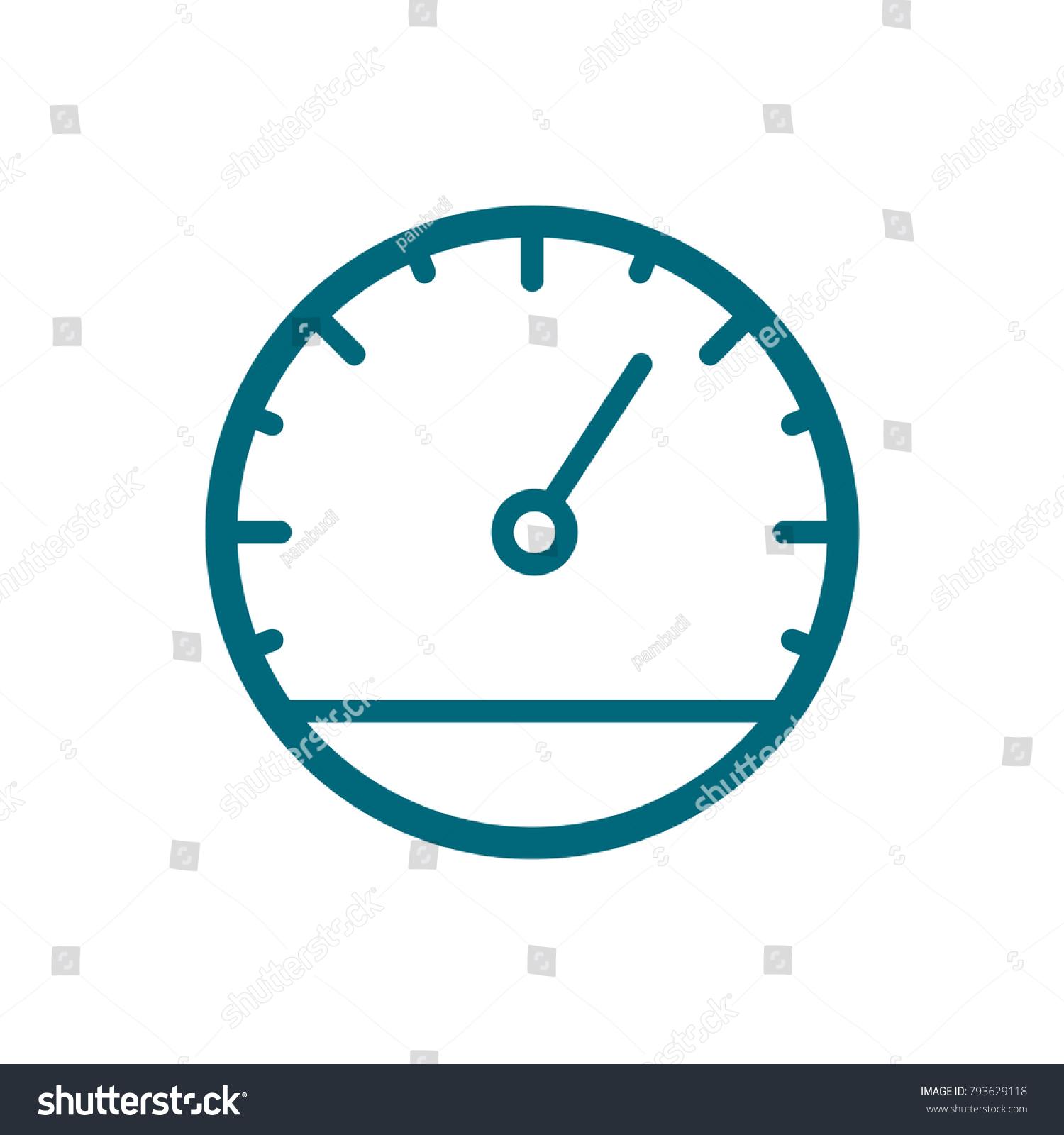 speedometer vector icon speedometer icon trendy stock photo photo rh shutterstock com speedometer vector free download car speedometer vector