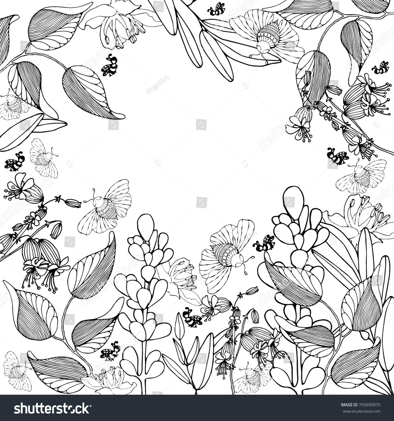 coloring page border at getcolorings com free printable colorings ... | 1600x1500