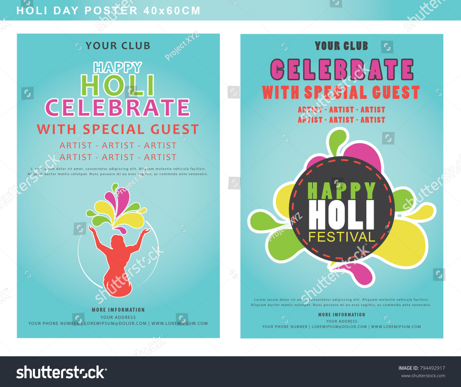 Unique Holi Party Invitation Gift - Invitations Example - progulki.info