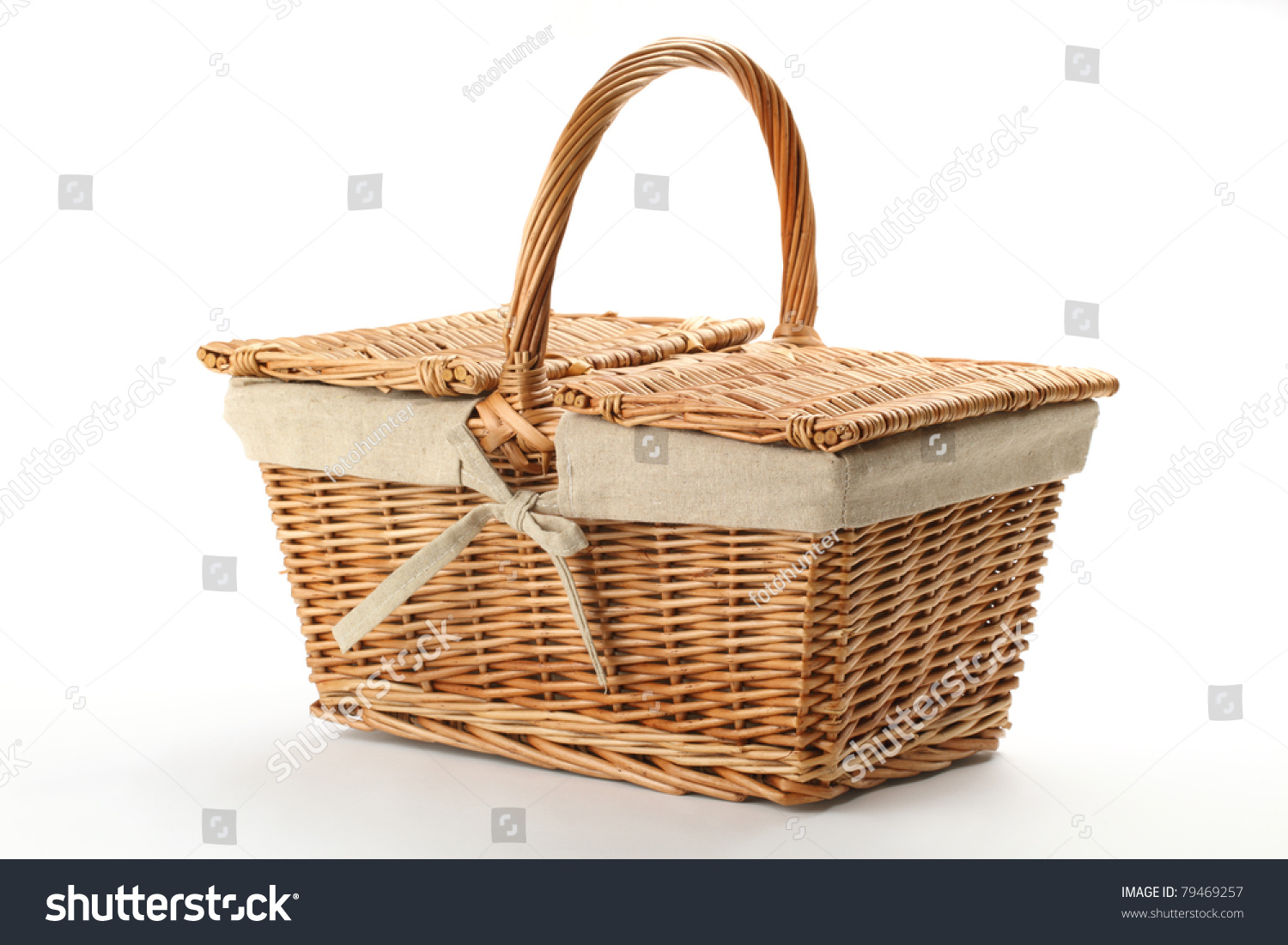 how to make a wicker picnic basket