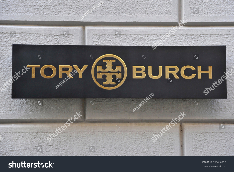 Italy milan january 162018 tory burch stock photo 795048856 italy milan january 162018 tory burch store in montenapoleone road fashion buycottarizona Images