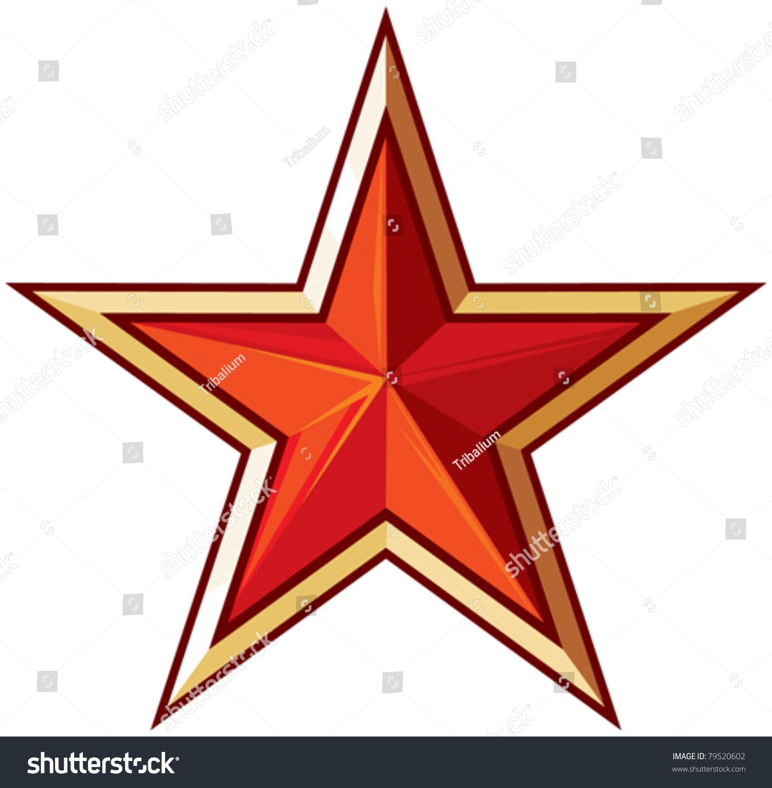 Soviet star and laurel wreath vector by Tribaliumvs - Image ...