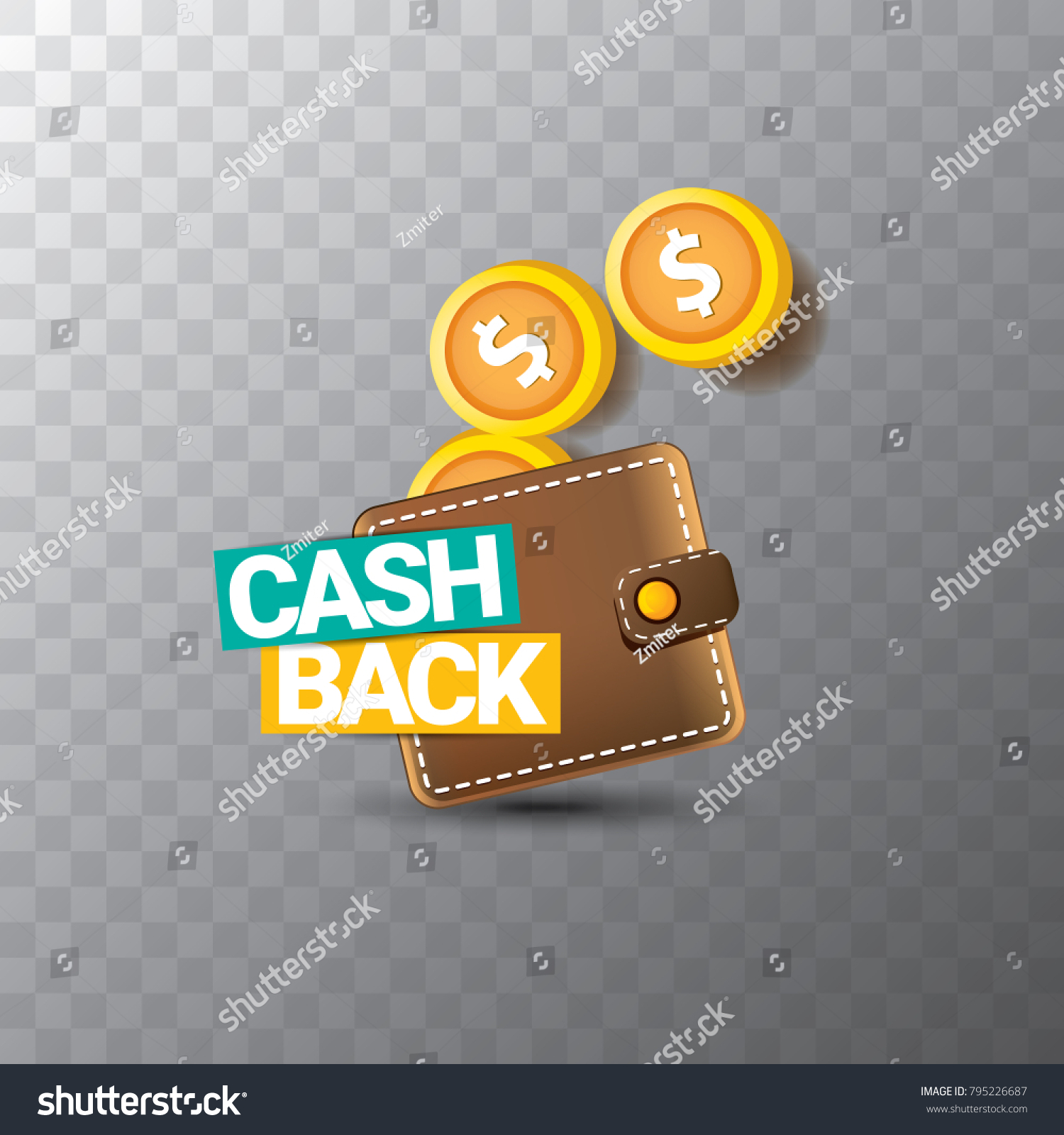 vector cash back icon golden coins stock vector royalty free 795226687 https www shutterstock com image vector vector cash back icon golden coins 795226687
