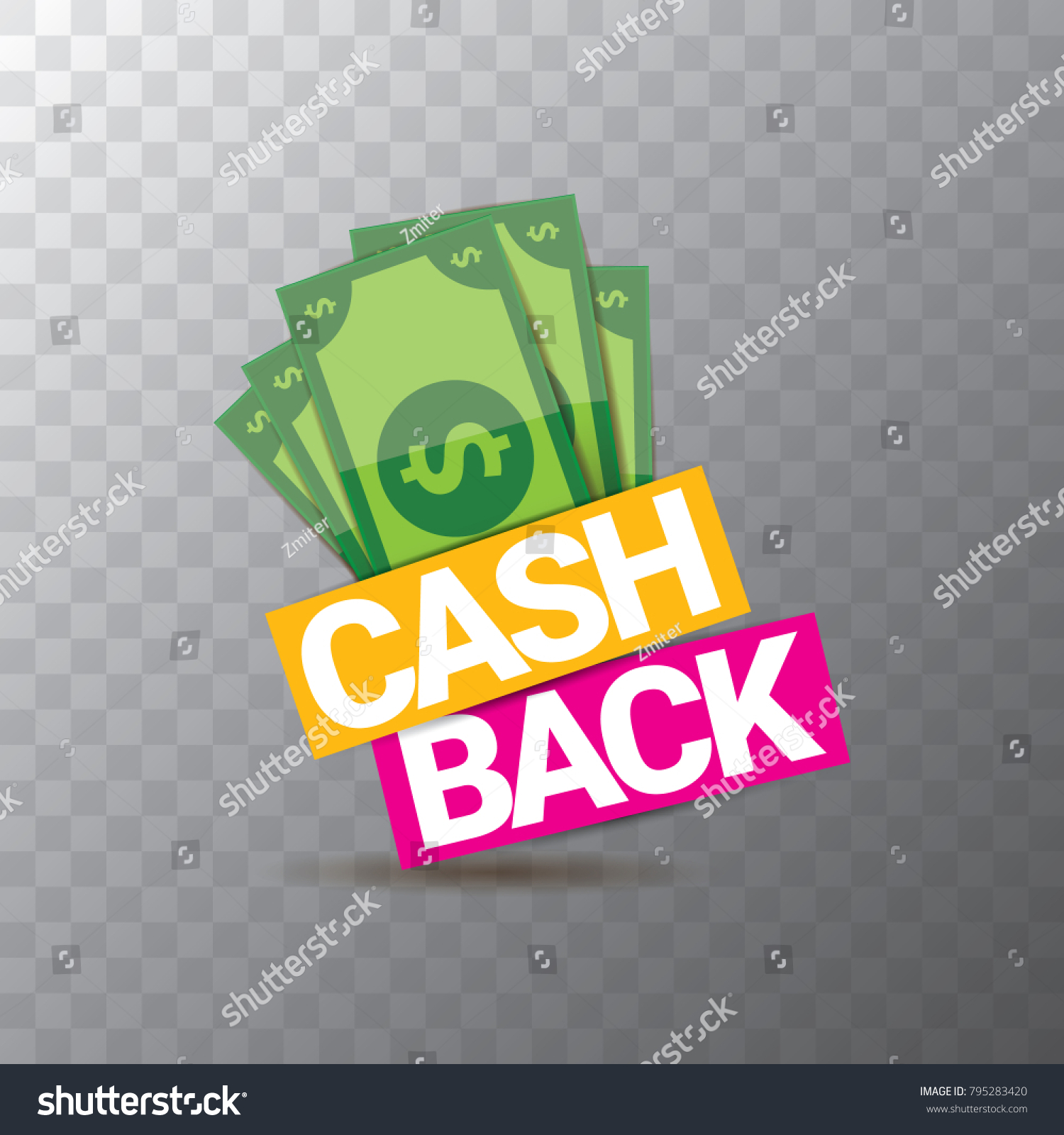 vector cash back icon isolated on stock vector royalty free 795283420 https www shutterstock com image vector vector cash back icon isolated on 795283420