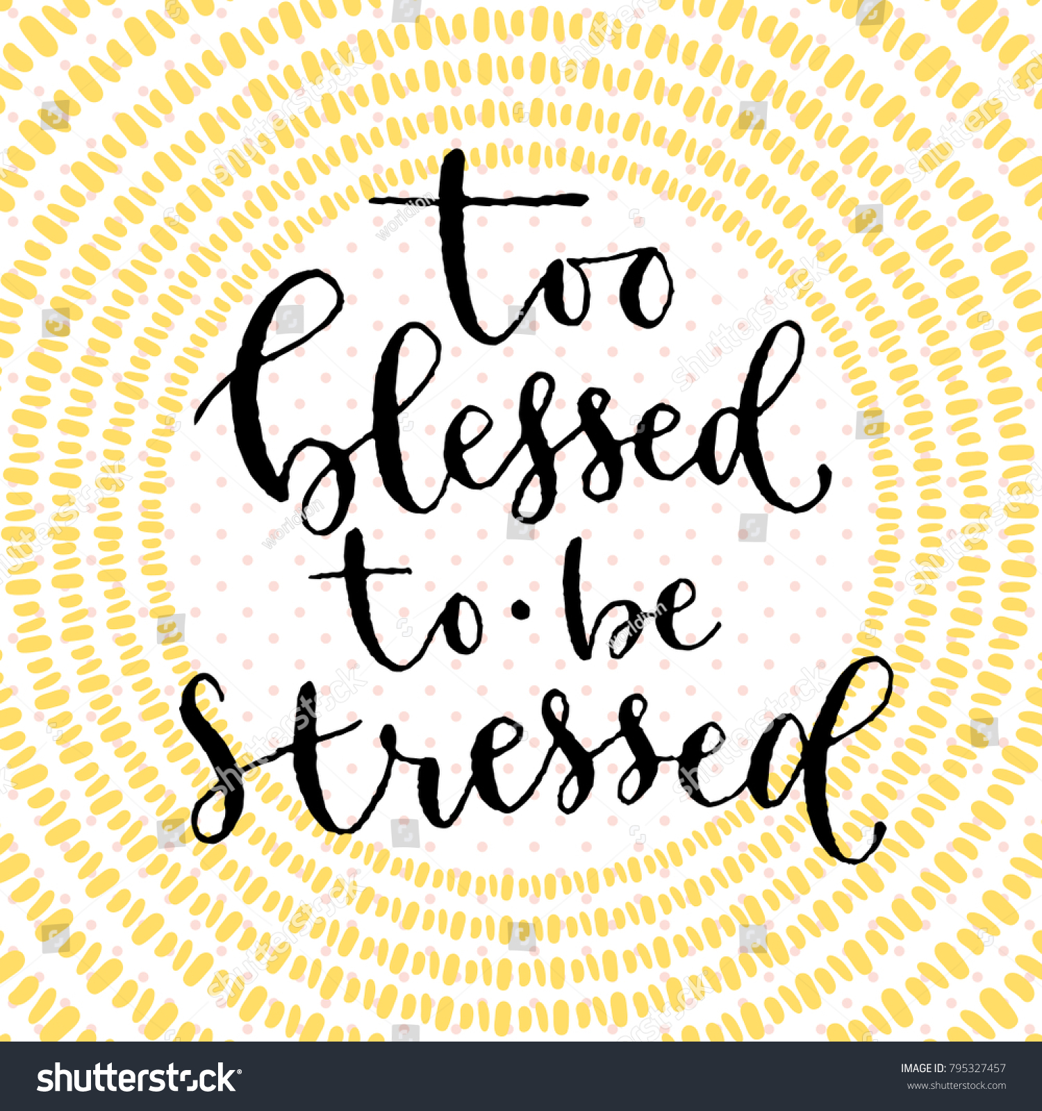 Blessed be stressed handwritten greeting card stock vector 795327457 blessed be stressed handwritten greeting card stock vector 795327457 shutterstock m4hsunfo