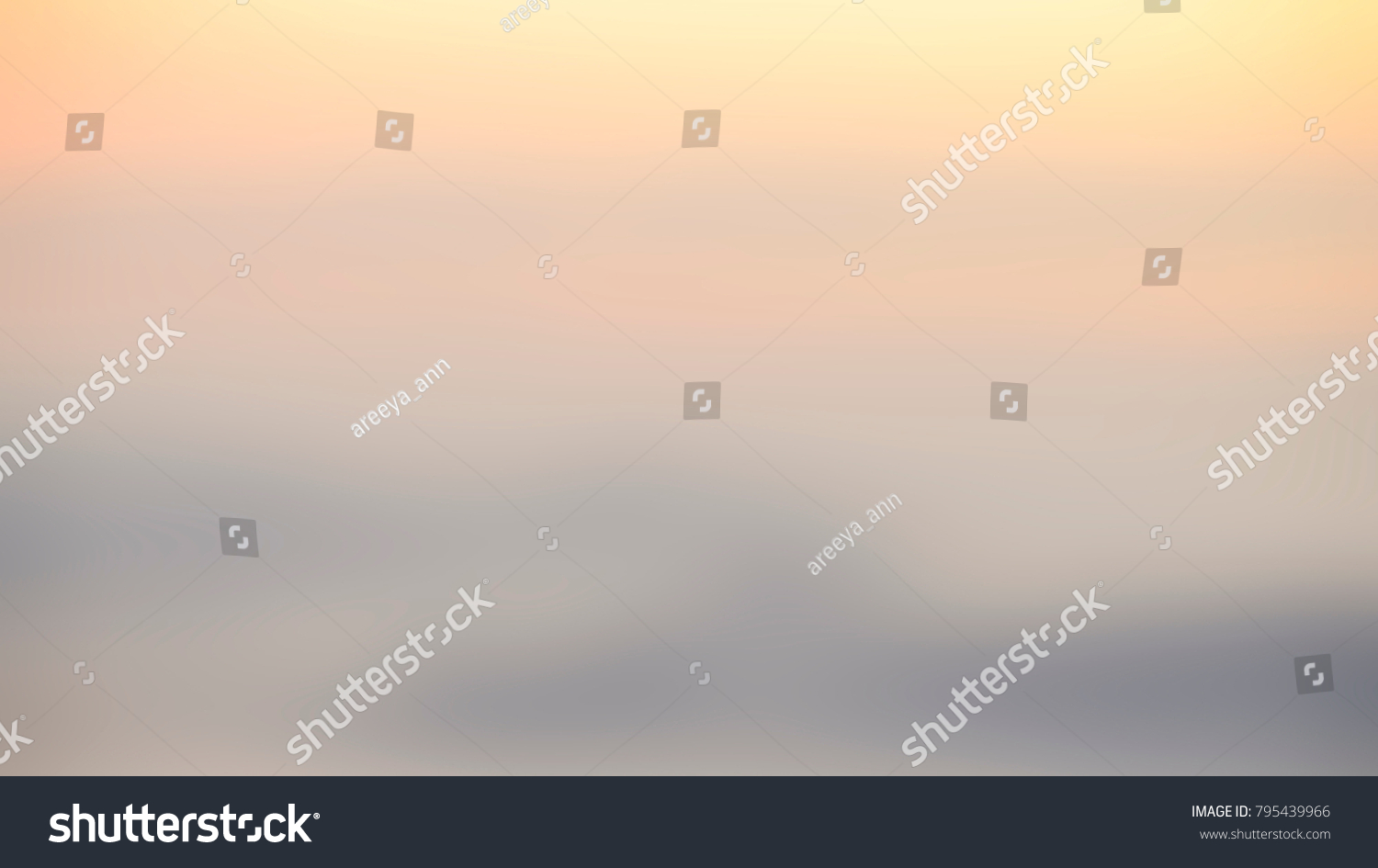 Blurred Sunrise Background, Early Morning Light, The Natural Lighting Phenomena. #795439966
