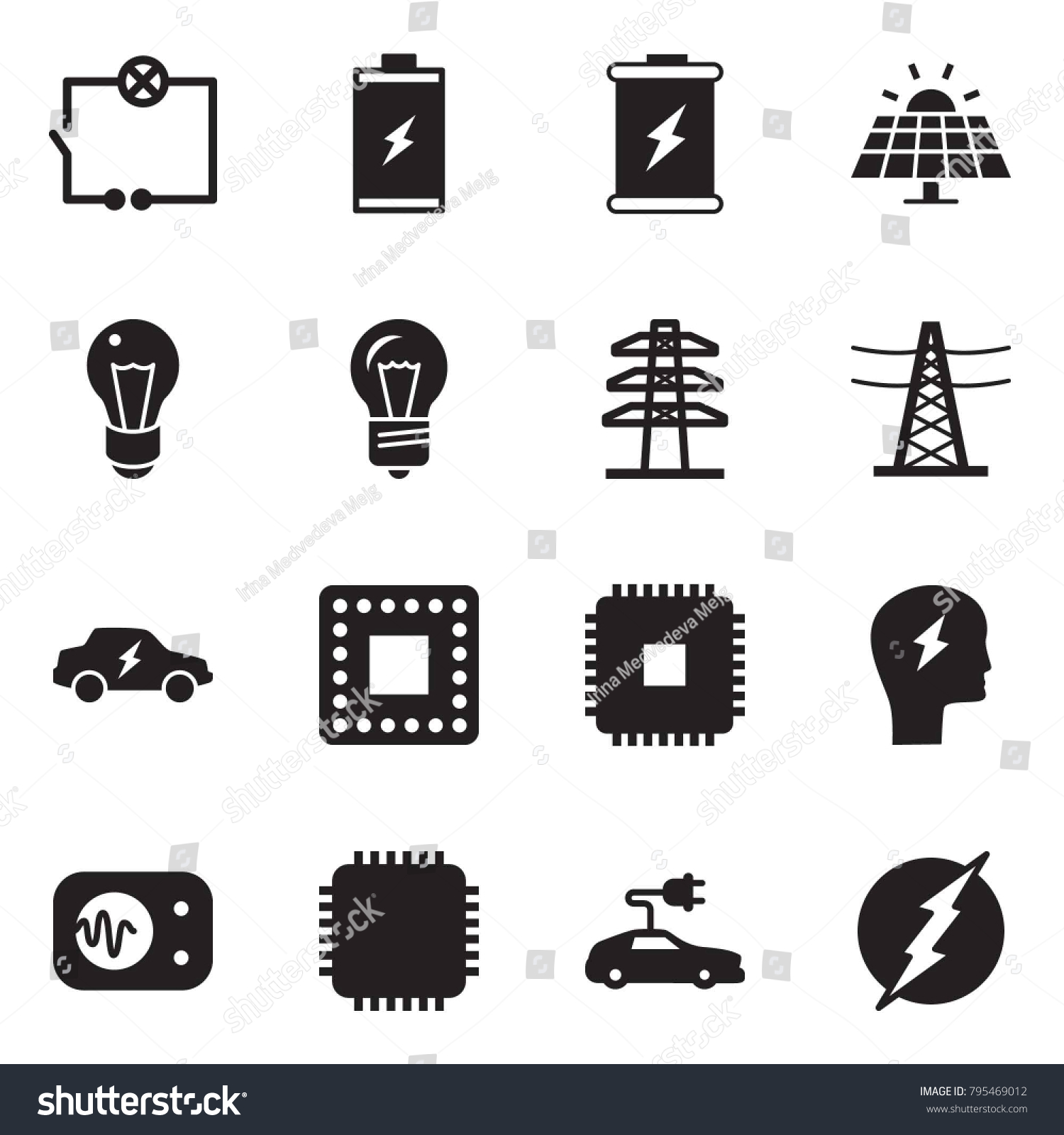 Panel Wiring Icon Schematics Diagrams Money Near Me Solid Black Vector Set Stock Royalty Free Rh Shutterstock Com Color Code Icons