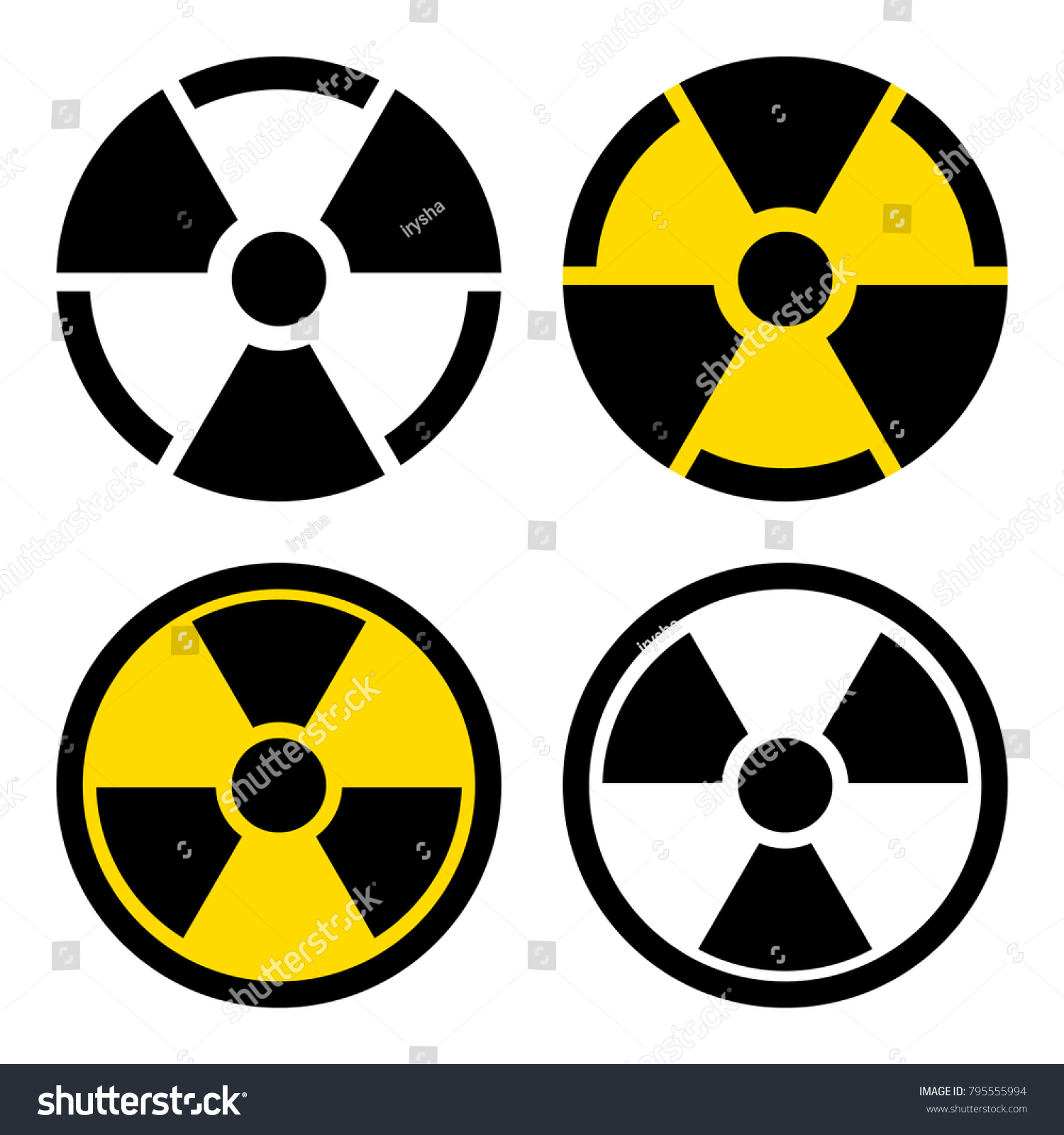 Radiation symbol vector icon flat sign stock vector 795555994 radiation symbol vector icon flat sign stock vector 795555994 shutterstock biocorpaavc Gallery