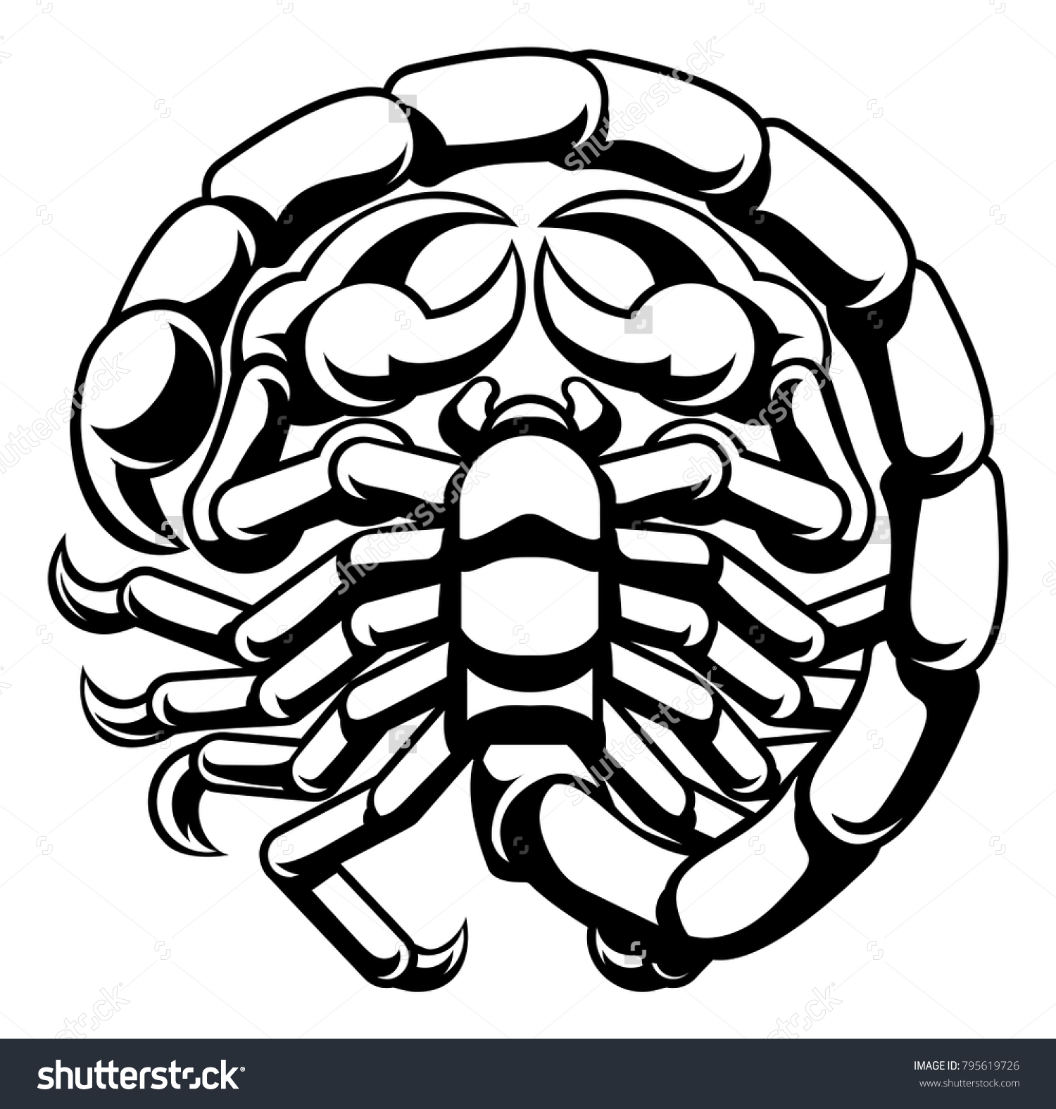 Scorpio scorpion horoscope astrology zodiac sign stock vector scorpio scorpion horoscope astrology zodiac sign symbol buycottarizona Image collections