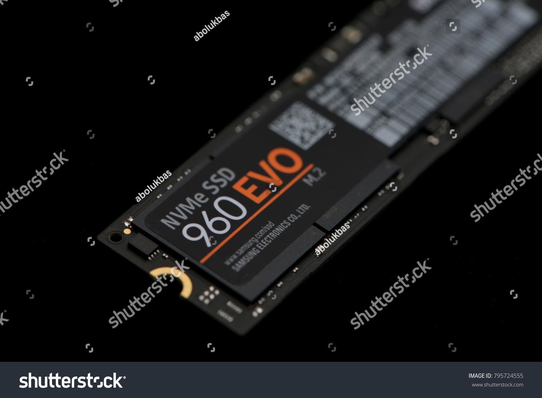 Shanghai China Dec 27 2017 Nvme Stock Photo Edit Now 795724555 Samsung Ssd 960 Evo M2 250gb Pcie Hard Drive Disk Made