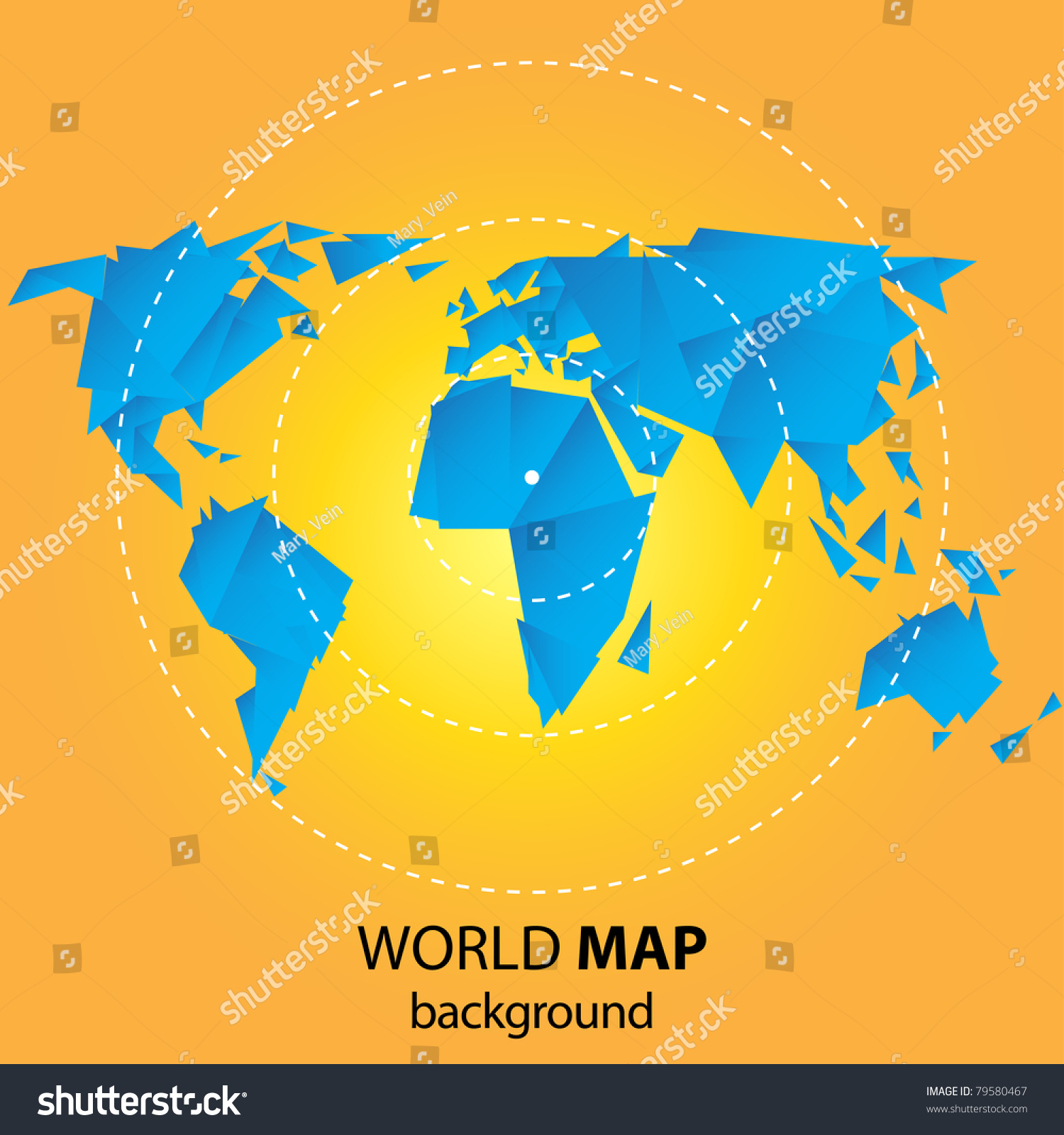 World map background origami style vectores en stock 79580467 world map background in origami style gumiabroncs Choice Image