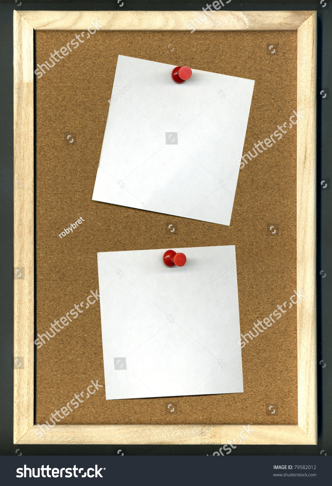 Poster board with sticky surface