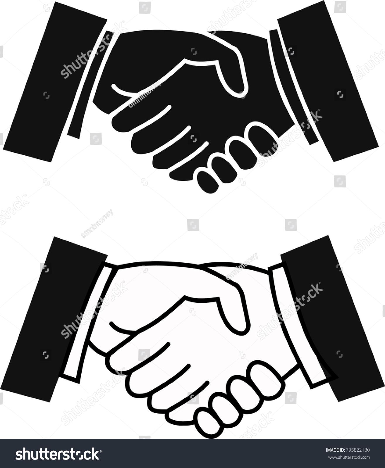 Partner Agreement Business Harmony Stock Illustration Royalty Free