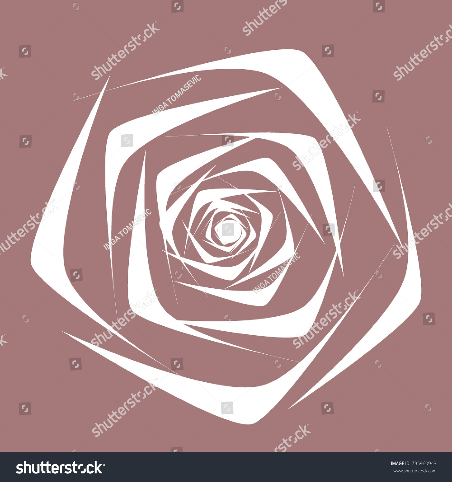 Beautiful white rose ethnic style textile stock vector 795960943 beautiful white rose in ethnic style for textile tile paper card banner buycottarizona Choice Image