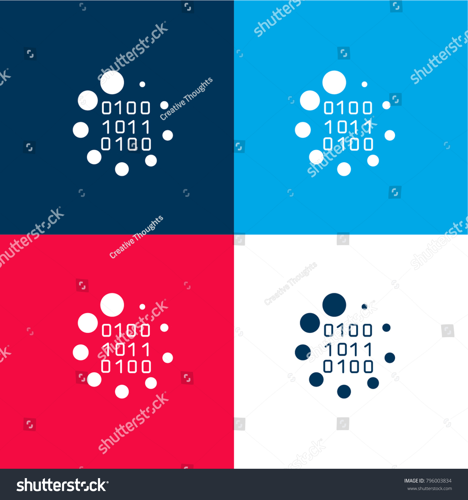Binary code loading symbol four color stock vector 796003834 binary code loading symbol four color stock vector 796003834 shutterstock biocorpaavc Image collections