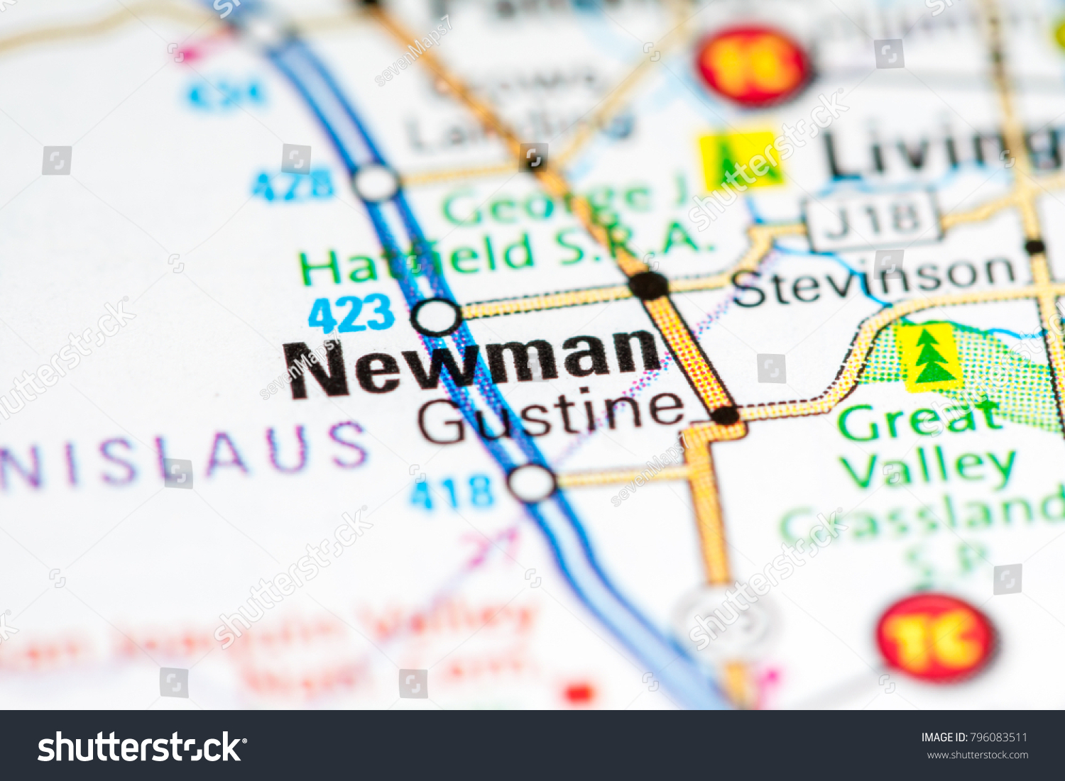 Newman California Map.Newman California Usa On Map Stock Photo Edit Now 796083511