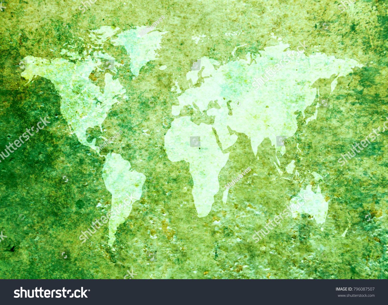 Grunge world map background stock photo royalty free 796087507 grunge world map background gumiabroncs Gallery