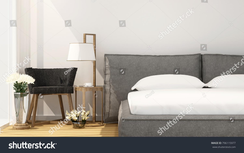 Bedroom Living Area Hotel Apartment On Stock Illustration 796115977 ...