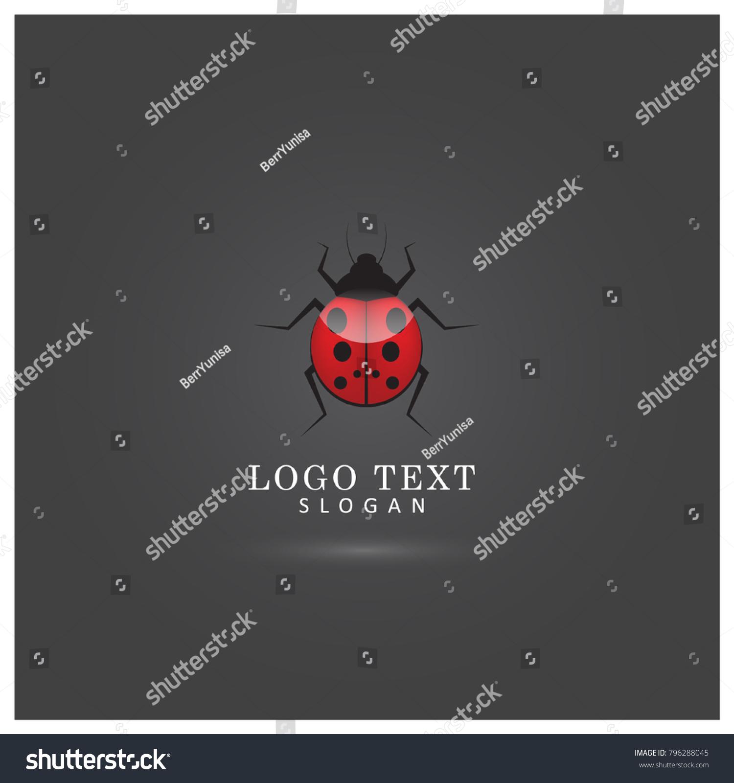 Ladybug Logo Symbol Icon Vector Template Stock Vector 796288045 ...