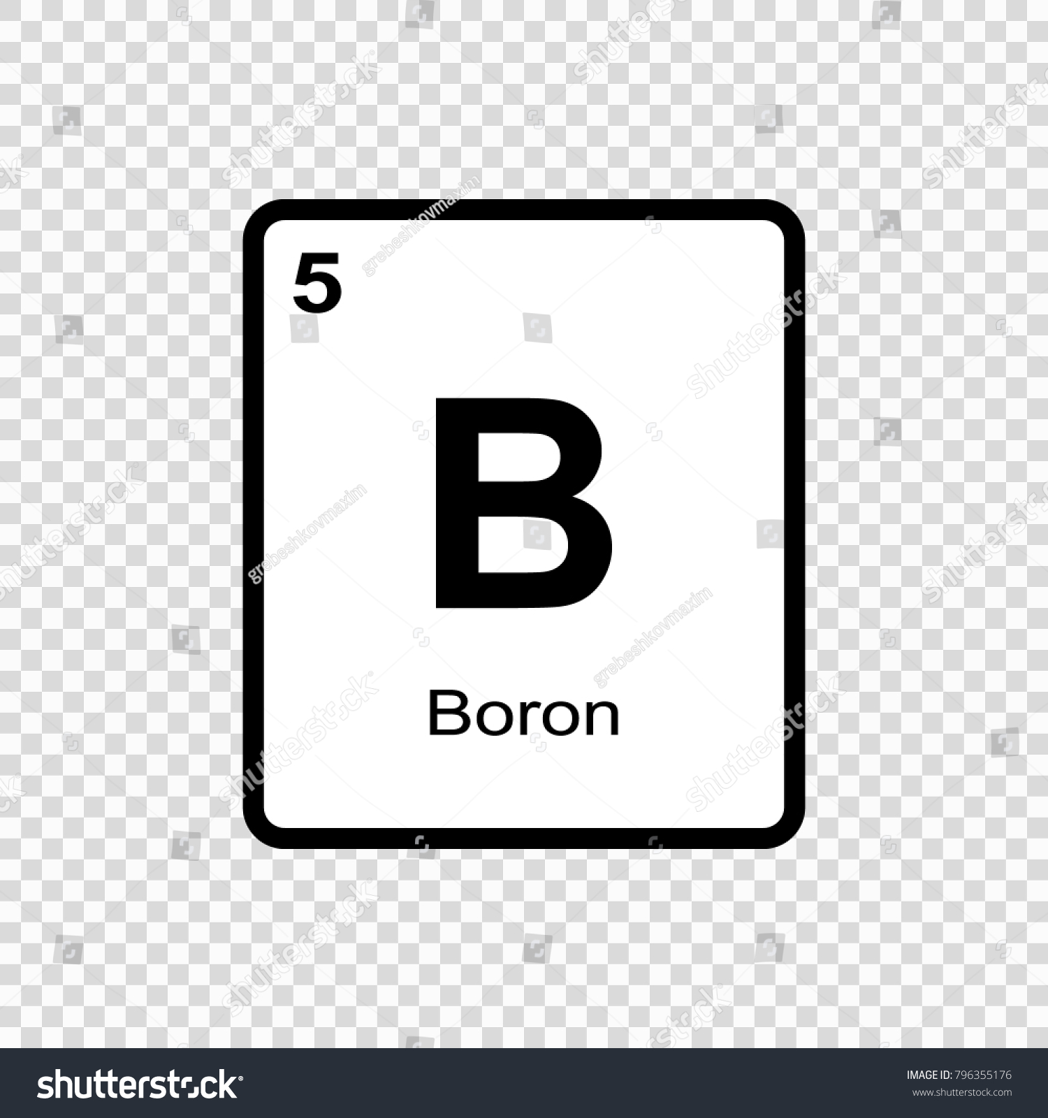 The symbol of boron images symbol and sign ideas boron chemical element sign atomic number stock vector 796355176 boron chemical element sign with atomic number buycottarizona