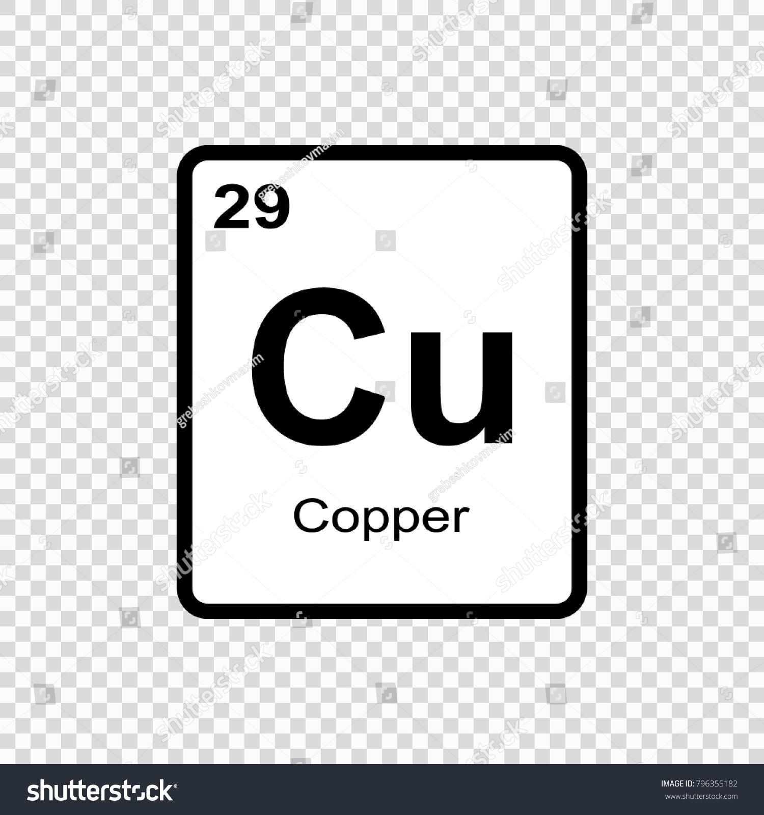 Atomic symbol of copper gallery symbol and sign ideas copper chemical element sign atomic number stock vector 796355182 copper chemical element sign with atomic number urtaz Choice Image
