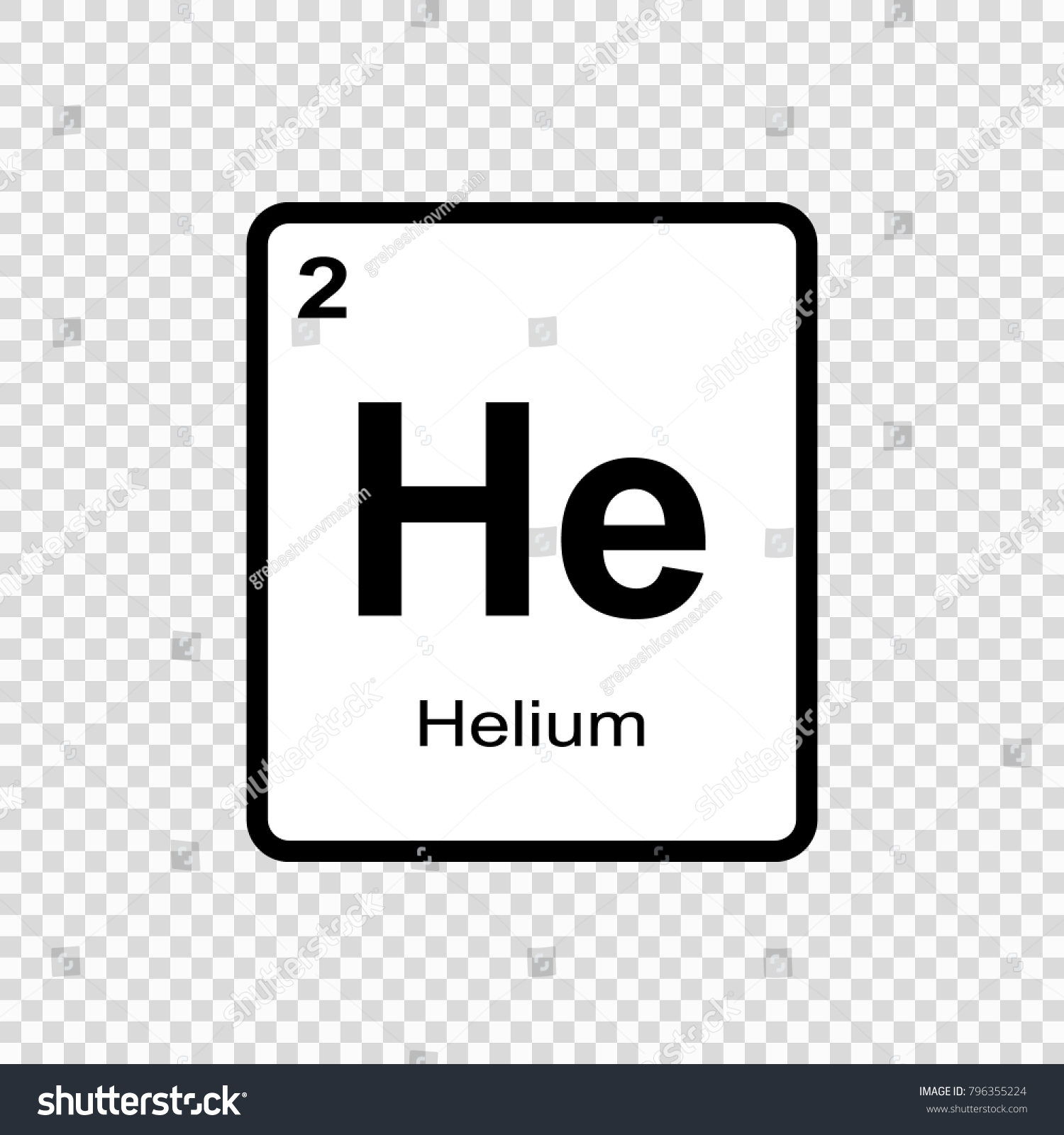 Helium chemical element sign atomic number stock vector 796355224 helium chemical element sign with atomic number chemical element of periodic table buycottarizona