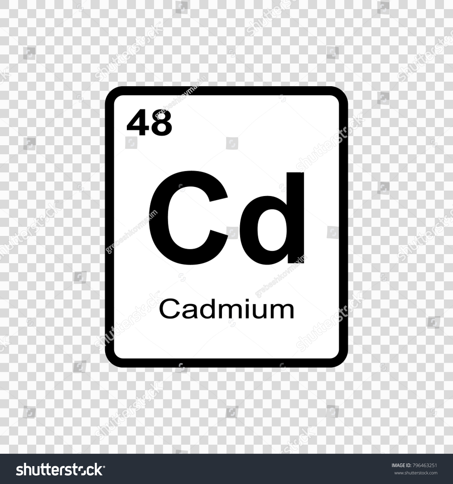 Chemical symbol for cadmium image collections symbol and sign ideas symbol for cadmium images symbol and sign ideas cadmium chemical element sign atomic number stock vector buycottarizona