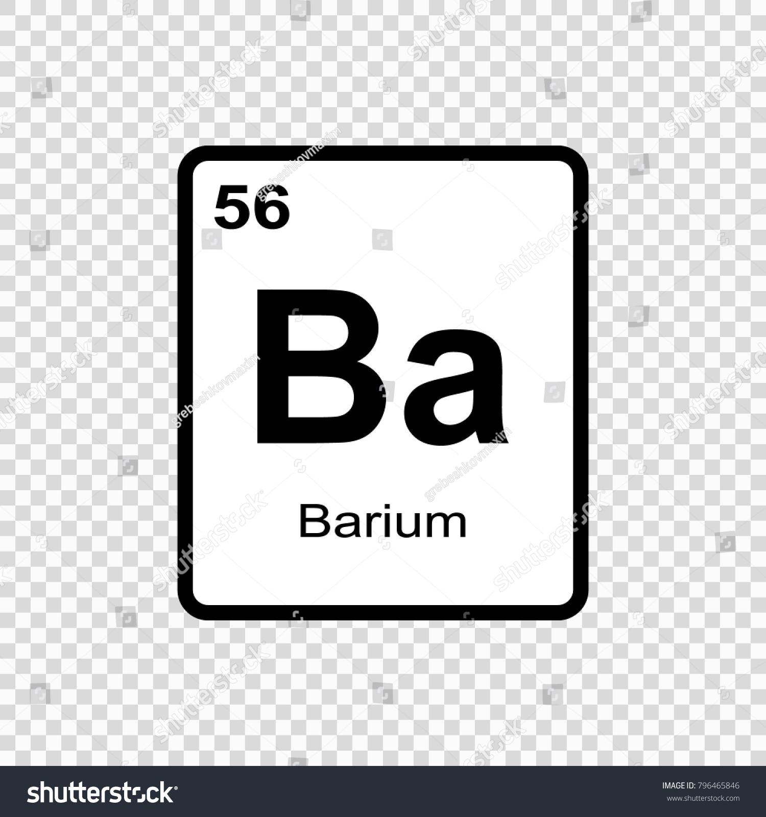 Barium chemical element sign atomic number stock vector 796465846 barium chemical element sign with atomic number chemical element of periodic table biocorpaavc Images