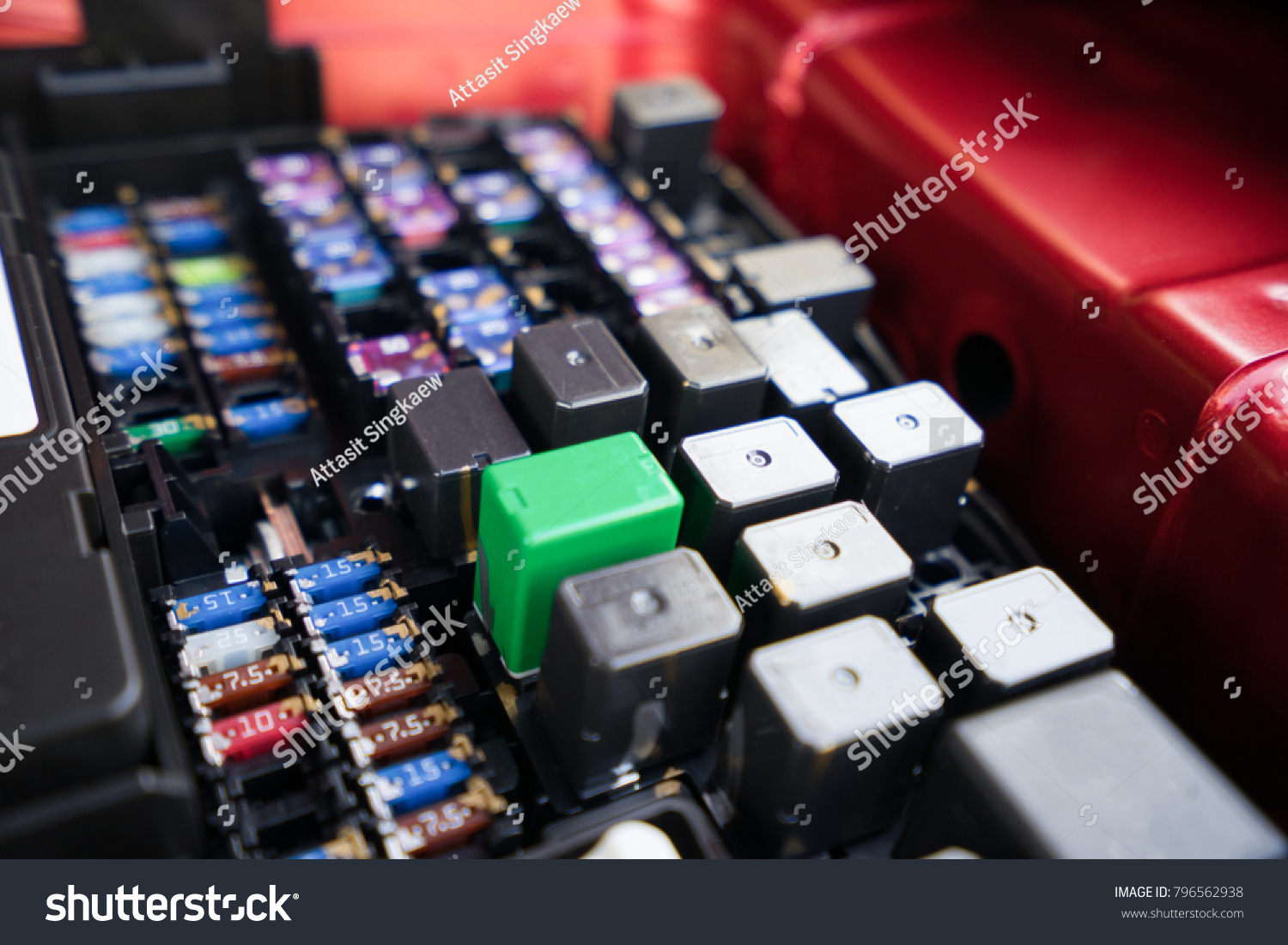 electric fuse box vehicle stock photo 100 legal protection rh shutterstock com Fuse Architects Fuse Symbol