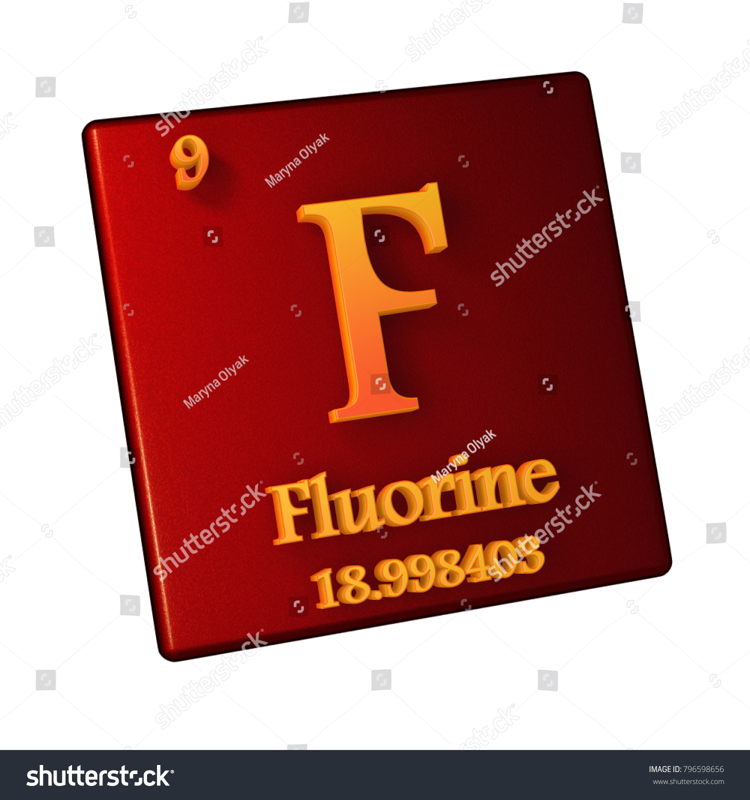 Fluorine chemical element number 9 periodic stock illustration fluorine chemical element number 9 periodic stock illustration 796598656 shutterstock urtaz Image collections