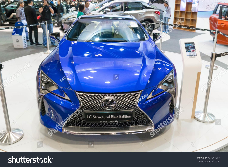 Singapore January 14 2018 Lexus Lc 500 Stock Photo Edit Now