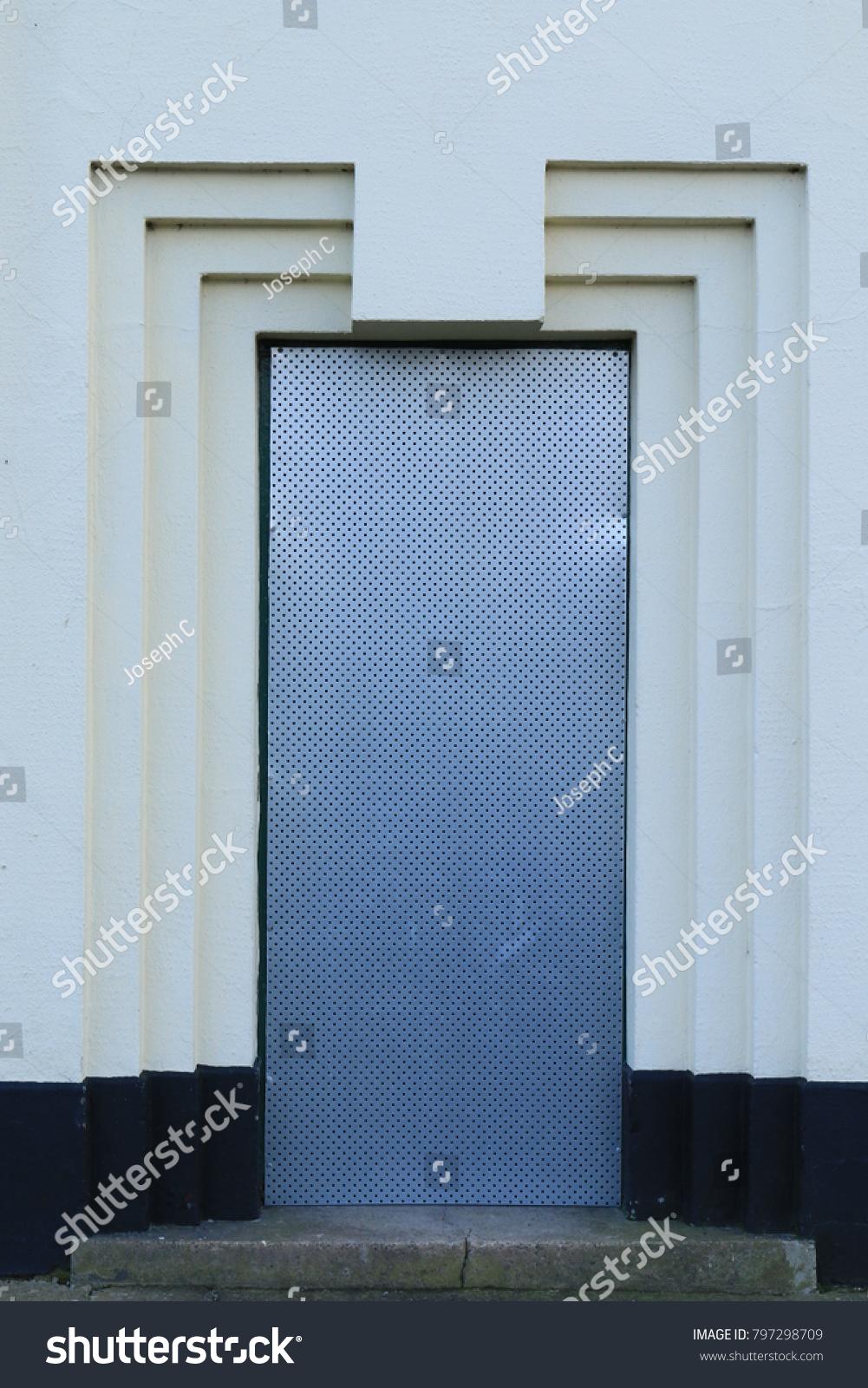 Art Deco Door Frame Art Deco Stock Photo (100% Legal Protection ...